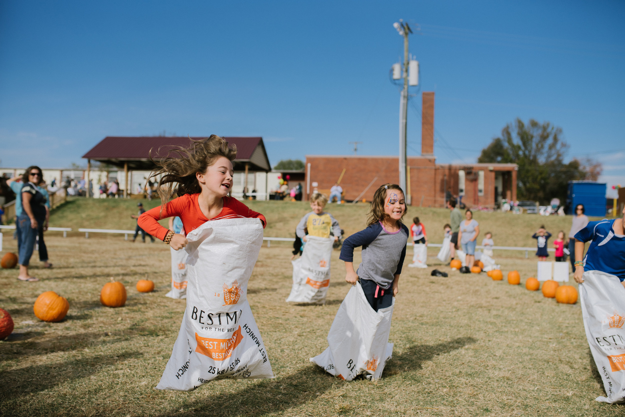 Over 600 people joined us at our headquarters this past November for the annual Hopewell Fall Festival. Tasty food, lots of games for kids, music and storytelling were all free for family, friends and neighbors to enjoy for an afternoon of fellowship and laughs.