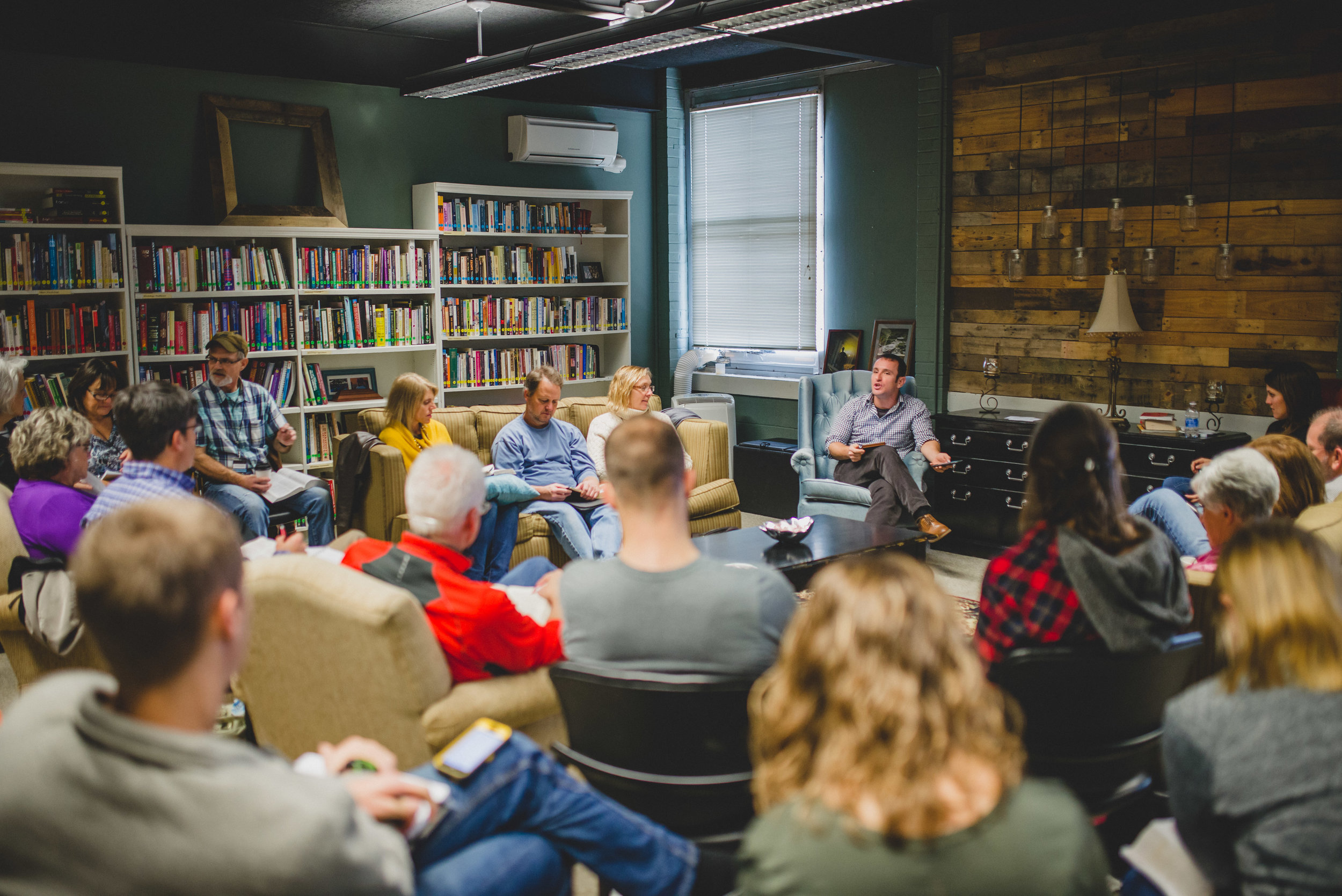 During the winter break, Institute Instructor Brandon Galford taught the adult track at Bible Talk 2016, a weekend of intensive study and discussion of the Bible and its relevance for the everyday life.