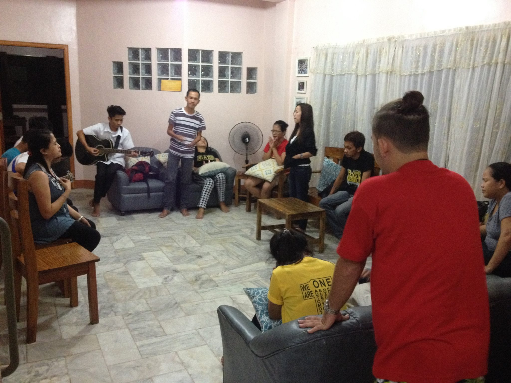We love and look forward to more moments like this of worship and bible study gatherings with young adults in the area.