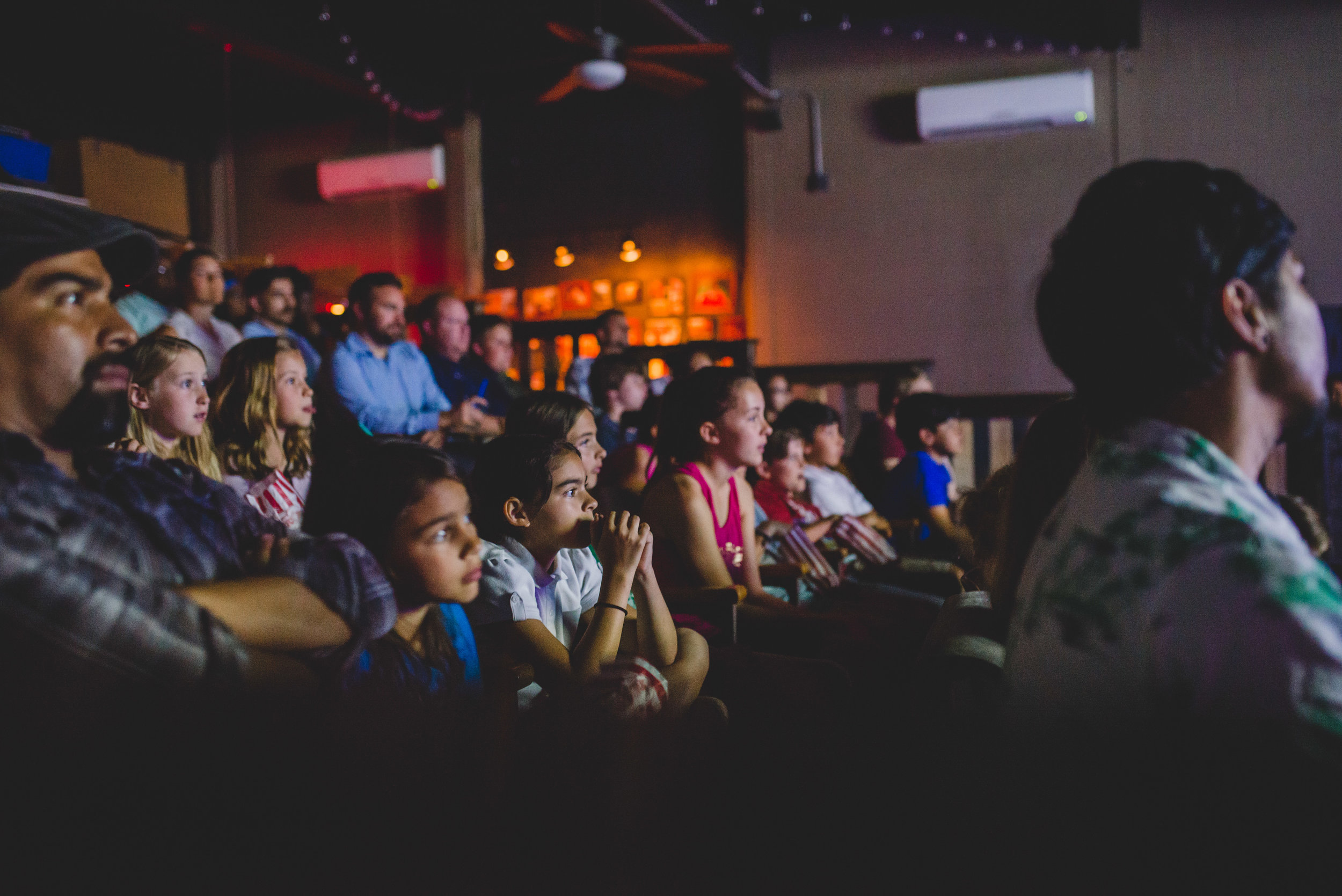 Audience members were captivated by the creative form of storytelling and the lessons taught through the production.