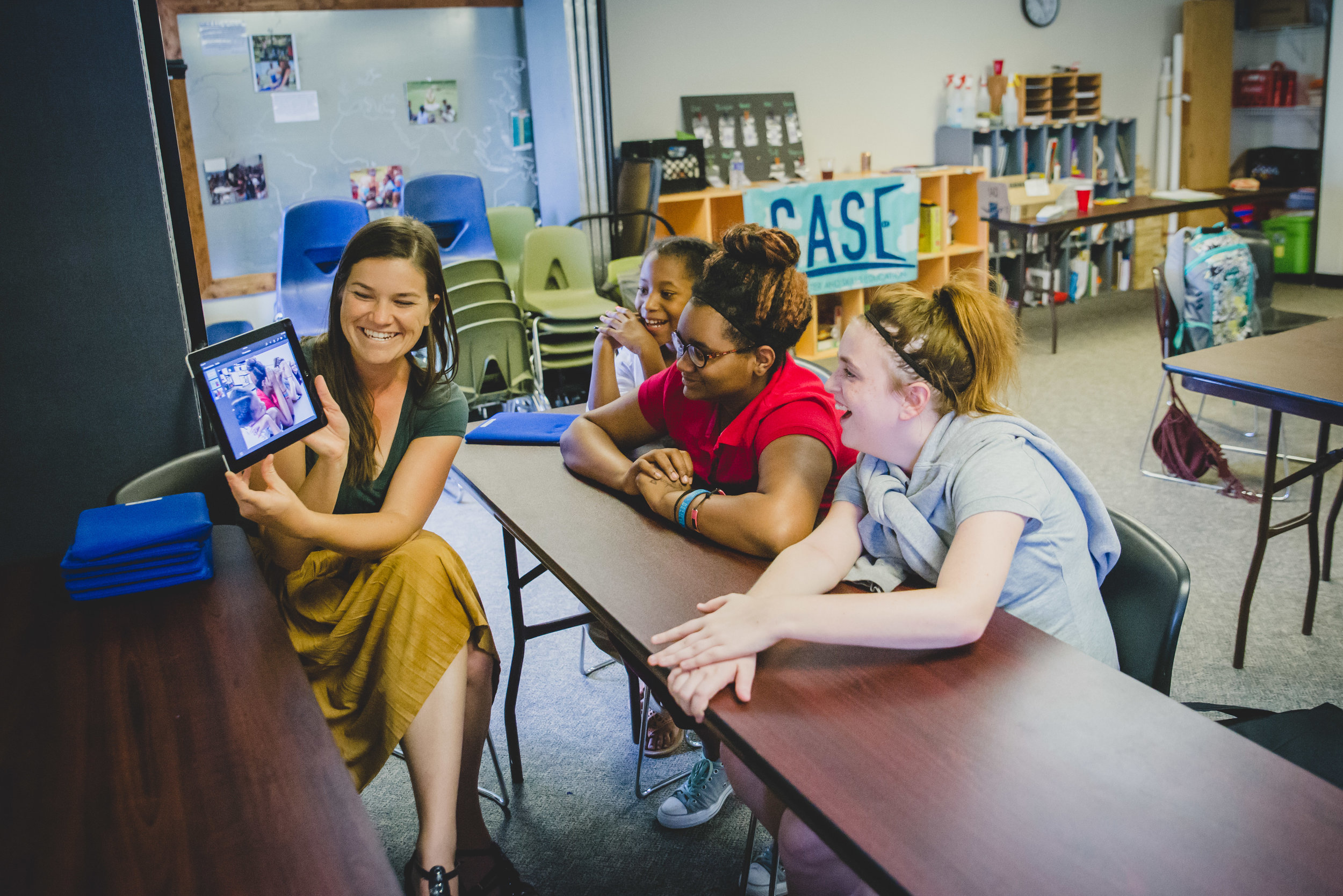 Using iPads, students had the chance to create a keynote presentation, newsletter, and even their own book this year! These projects developed students' capacity for writing, design, and oral presentation.