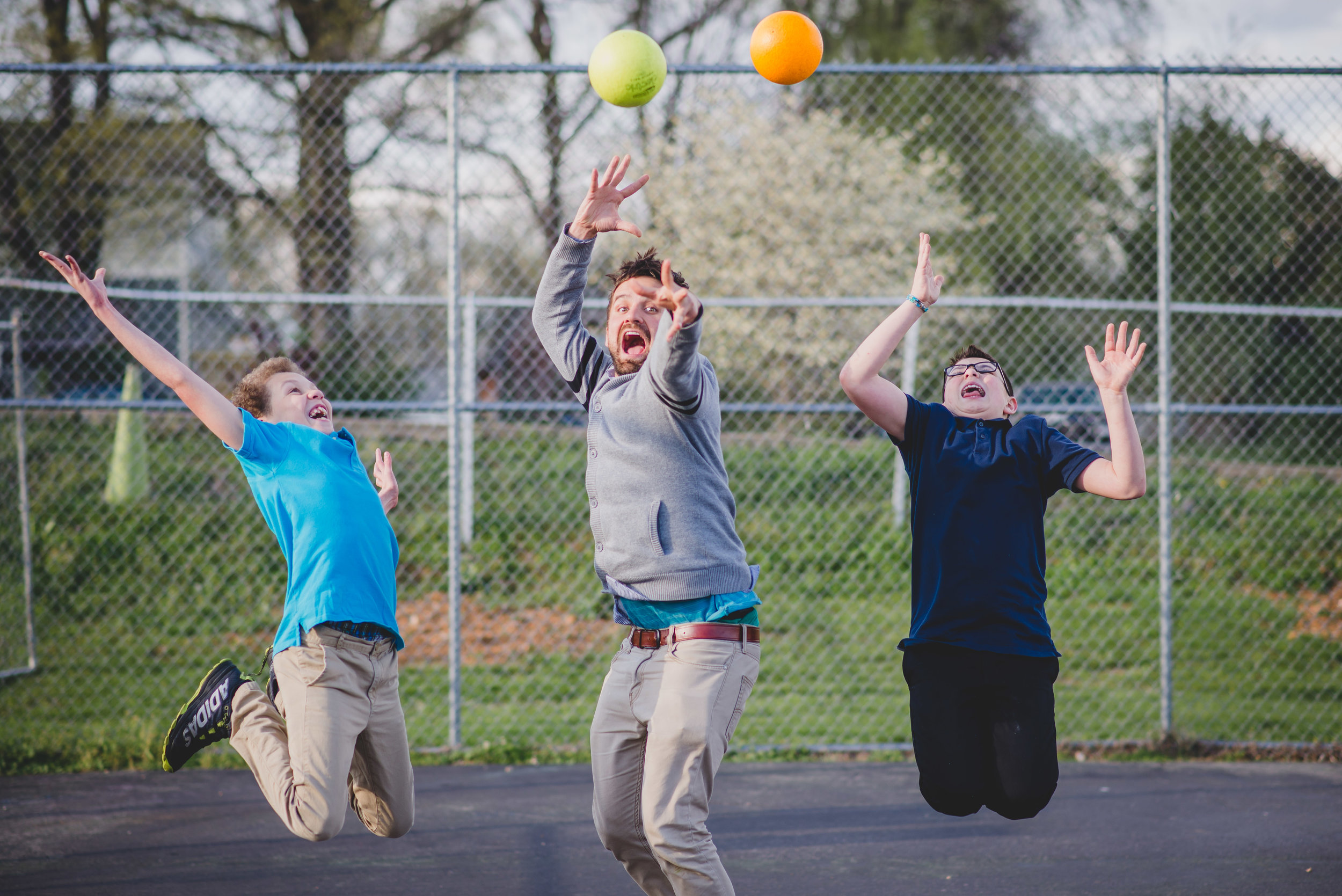 The first step to successfully working with middle school students: embrace the chaos. Benjamin Reese rivals our middle school students in energy and competition - particularly when it comes to dodgeball games.