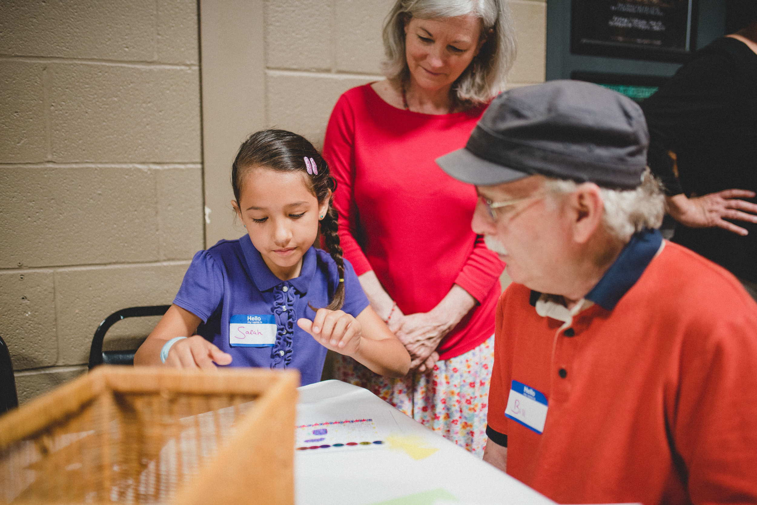 The theme of this year's Grandparents Day was 'A Thankful Generation'. Students prepared individualized poems and cards to express gratitude for their grandparents. We are thankful for so many wonderful relatives involved in these student's lives!