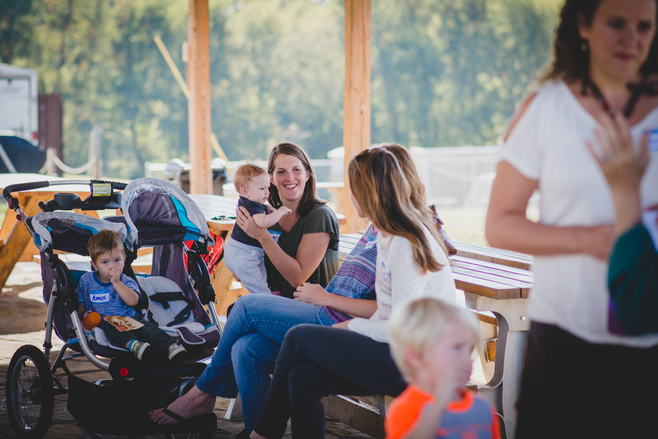 """We love our moms! On the first Friday of each month, our PTO organizes a """"Mom's Coffee Hour"""" where mothers can come after morning drop-off to enjoy coffee and fellowship with one another. These times are unifying and helpful as moms grow in friendships alongside their kids!"""