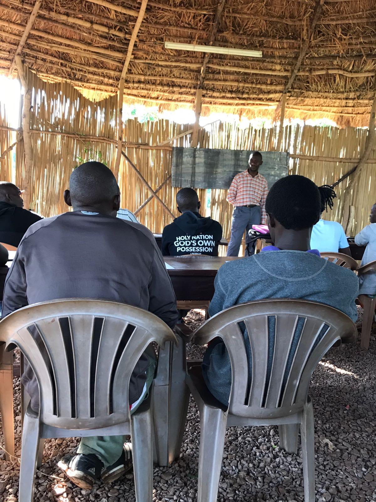 Professor Kimbugwe teaches Torah Overview.
