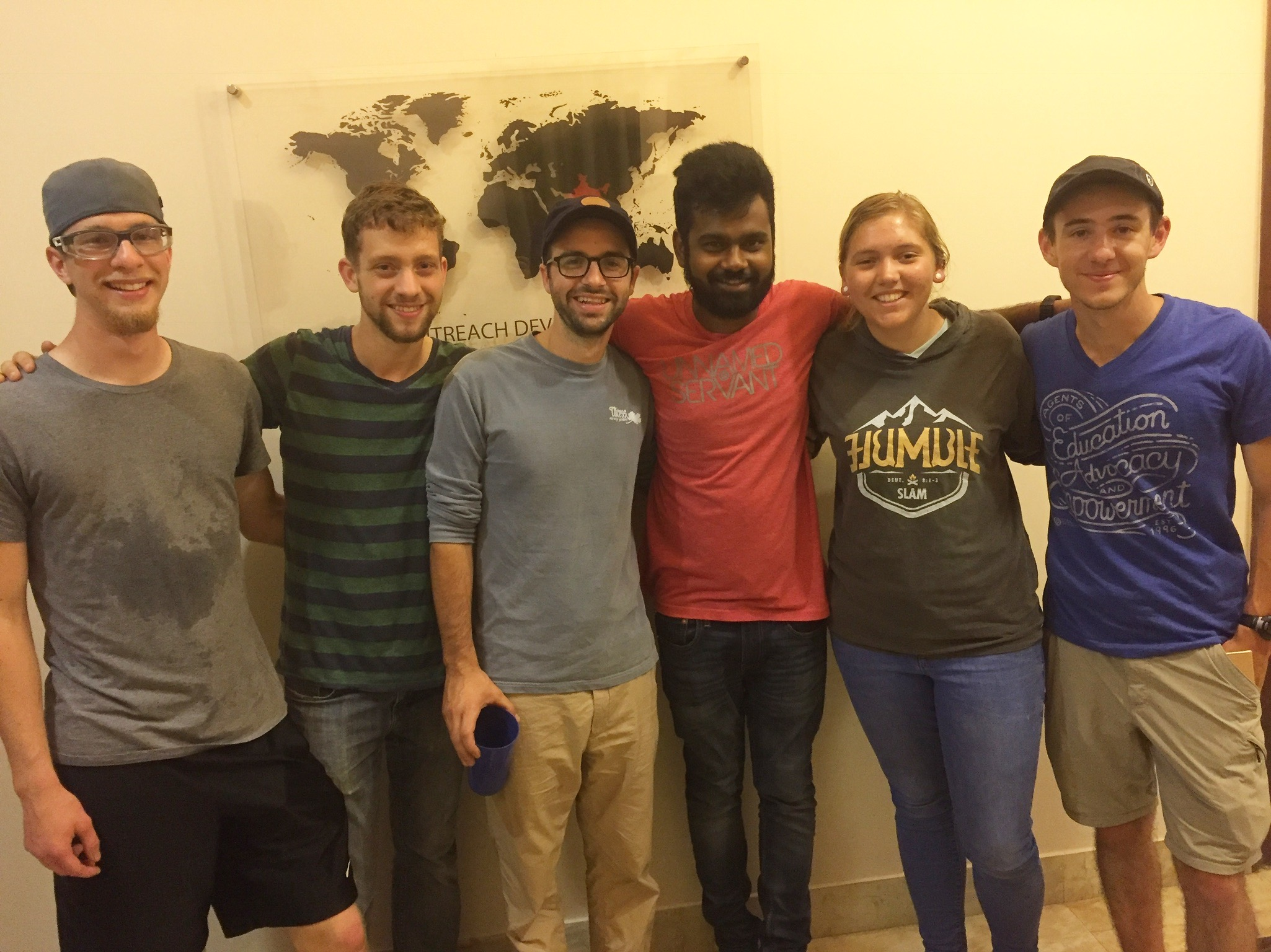 Jameson Parker and Ryan McAlister (far left) are blessed to accompany SLAM Missions interns and facilitator Nick Sherrod. Both having traveled to India last summer, these back-to-back trips show them our growing work in the region.