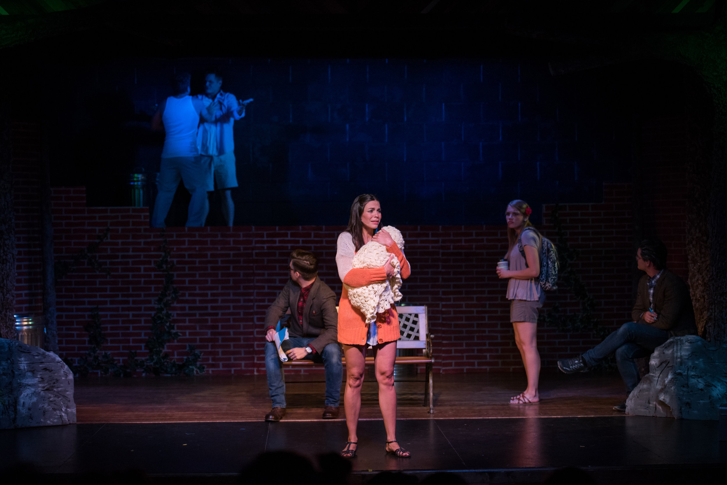 Through flashbacks done through creative staging, Nod's life is showcased from infancy to adolescence to college student--all bearing impressions on who he became as an adult.