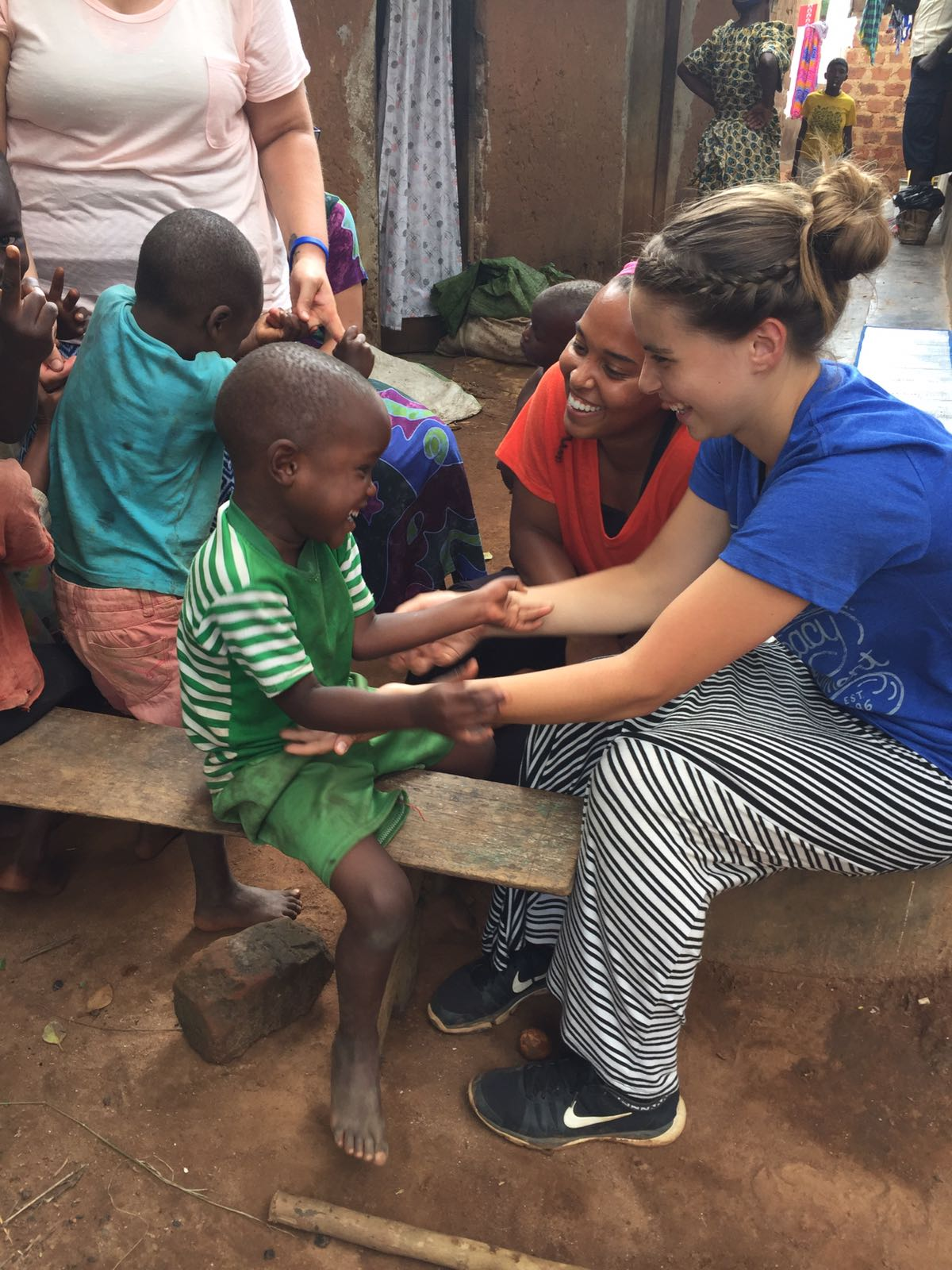 Our interns were present long enough that they weren't just smitten by cute kids, they continued, day after day, investing into children in sustainable ways to make their lives better.