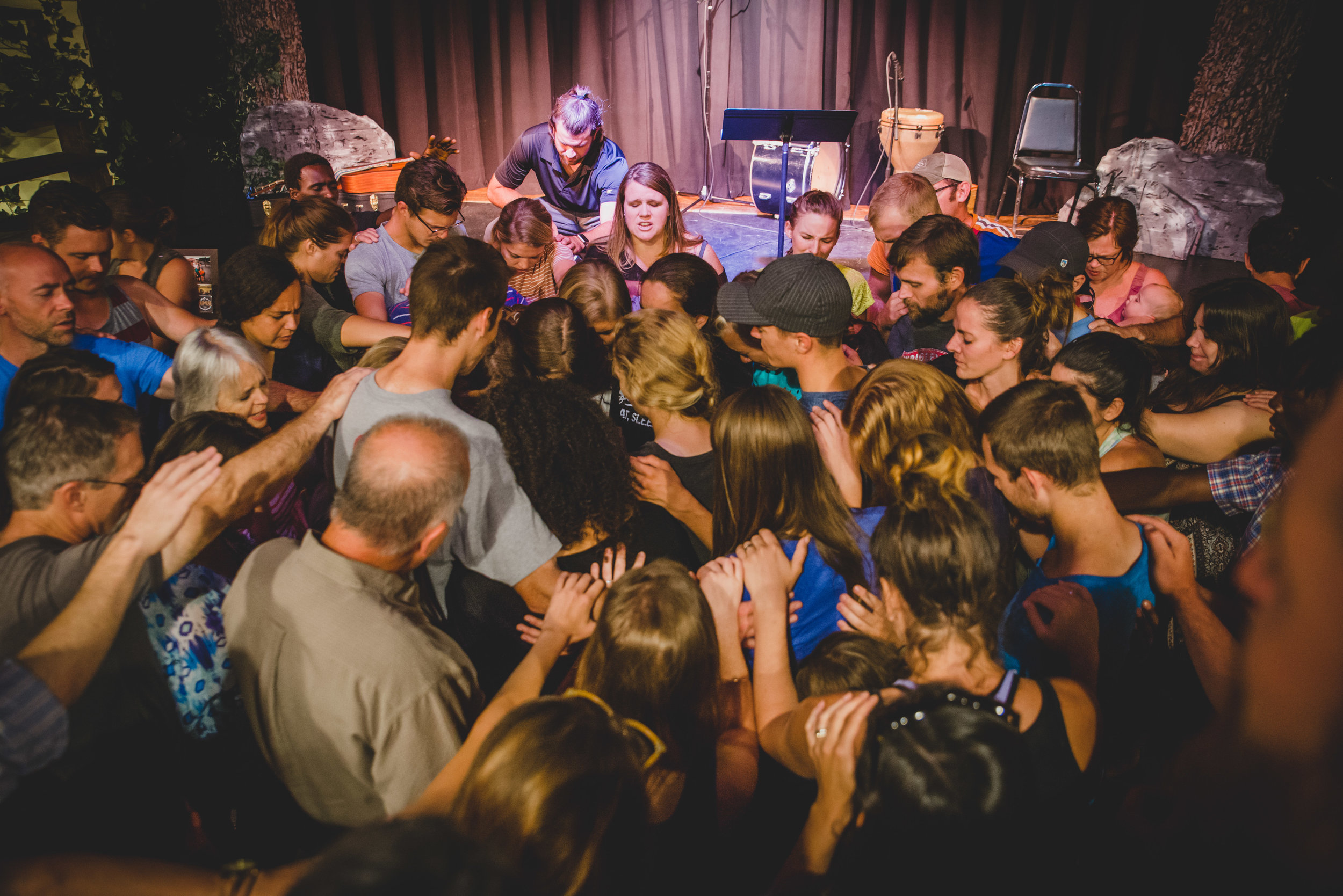 While the interns receive some of their first lessons in choosing to live by the spirit and not the flesh, they are surrounded by a collaborative team effort that requires a lot of spirit. Putting on summer internship is no small feat, many people are involved in equipping interns for their tasks, and investing into their person at the same time.