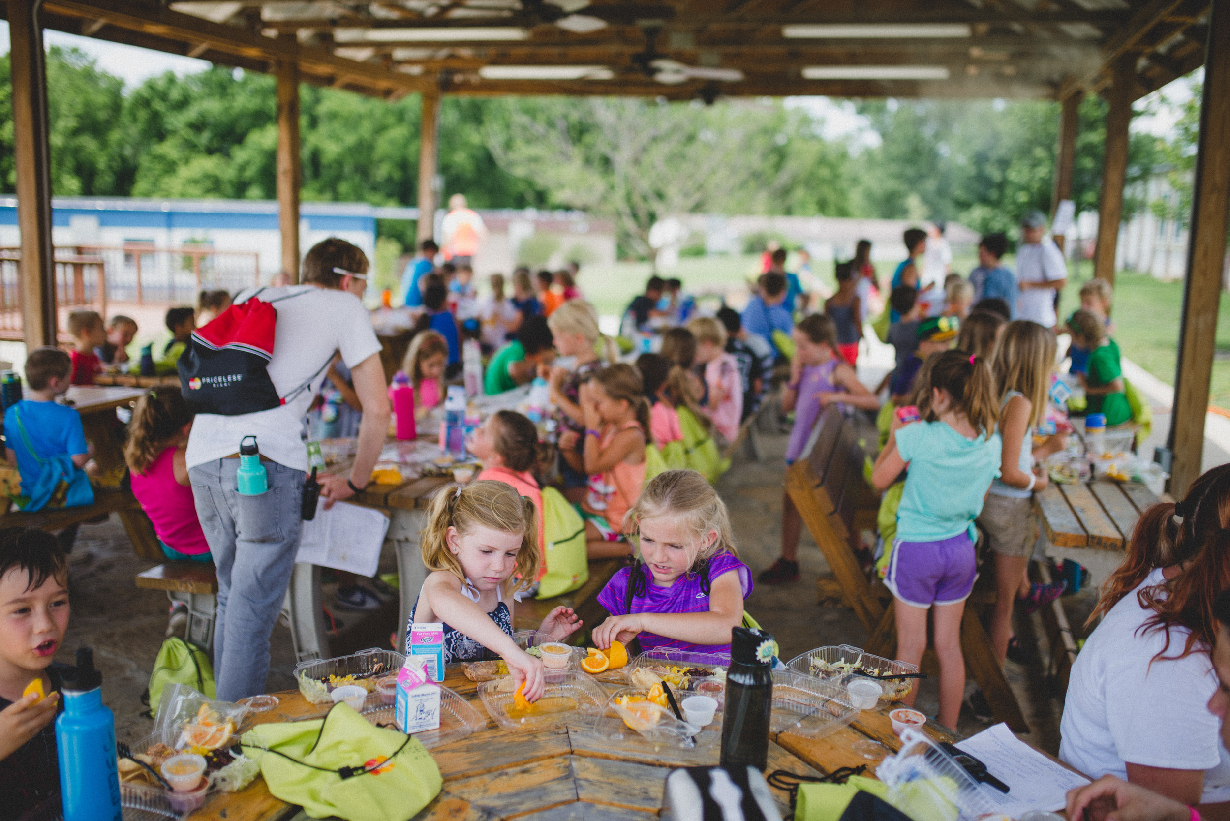 Campers at Camp Skillz enjoyed healthy breakfasts and lunches every day of camp for 6 weeks this summer.