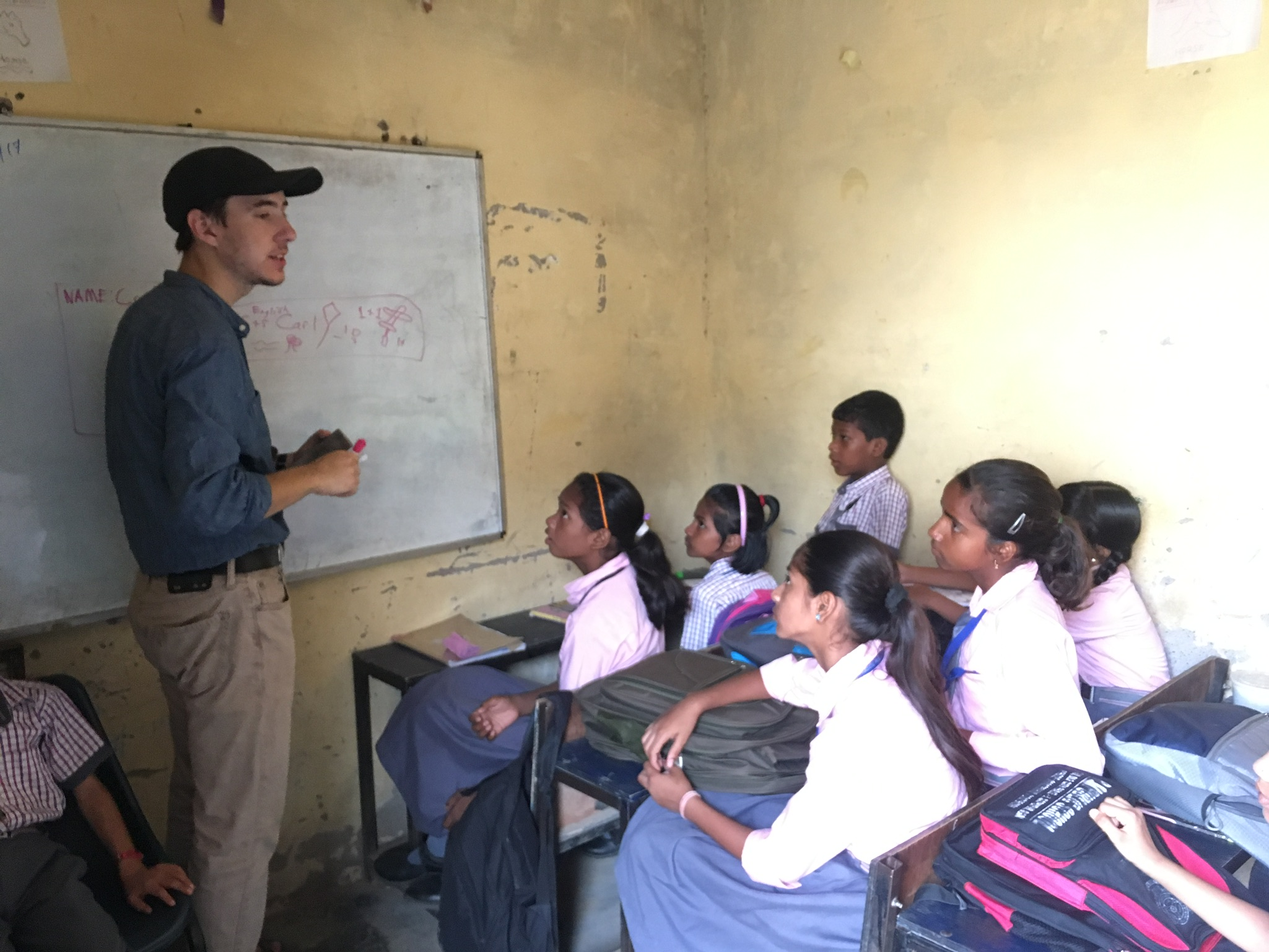 Carl Cook, along with the intern team, got the opportunity to assist in teaching students at APS, with whom our ministry is partnering to ensure these students receive a quality education.
