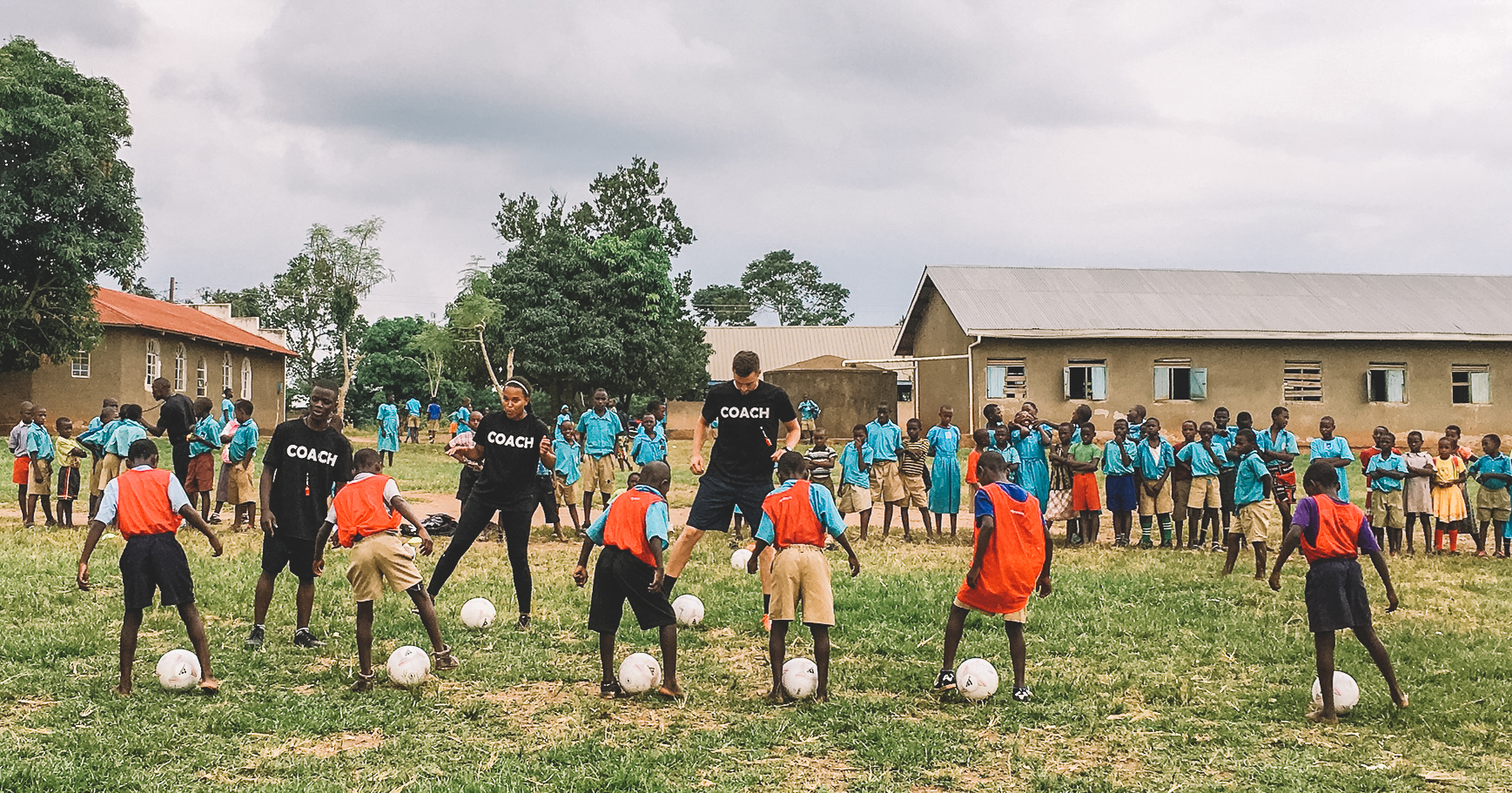G.O.D. teams facilitated the first formal football league for St. John's children and a variety of teacher training seminars this summer.