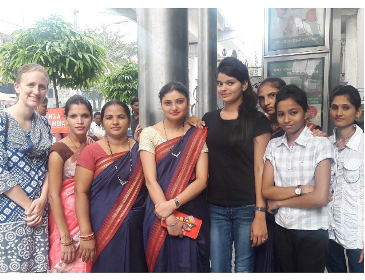 Rachel, along with most of the staff from APS, attended a teachers' conference in New Delhi in August.