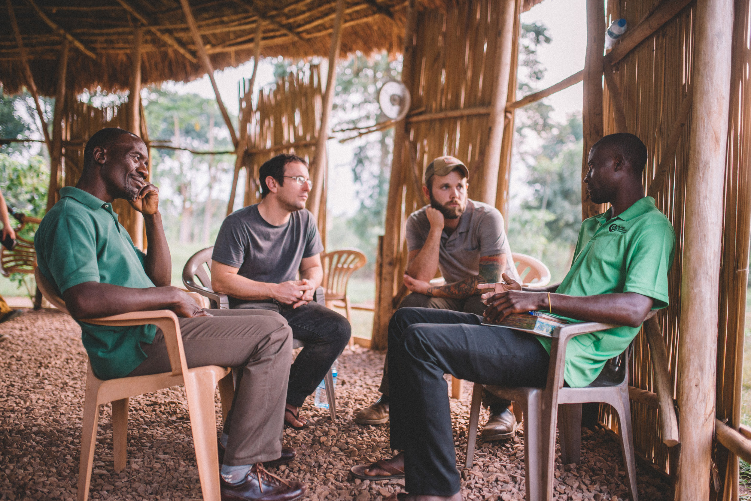 Spending time in classes and discussion groups with staff and students, our team was able to gauge life at the Institute and offer help where needed.