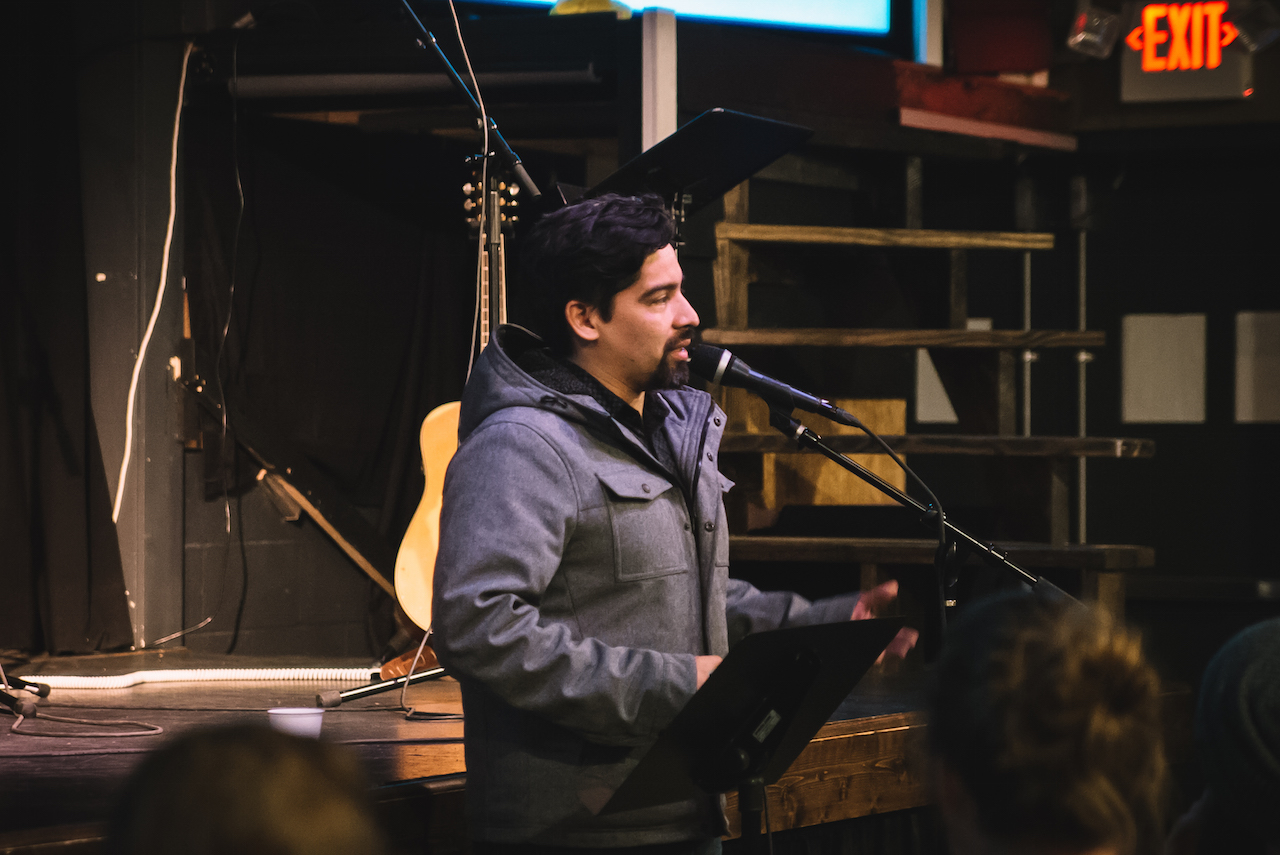 Rob Munoz followed up by talking about the only balance he can find: not quitting, and continuing to run the race for God.