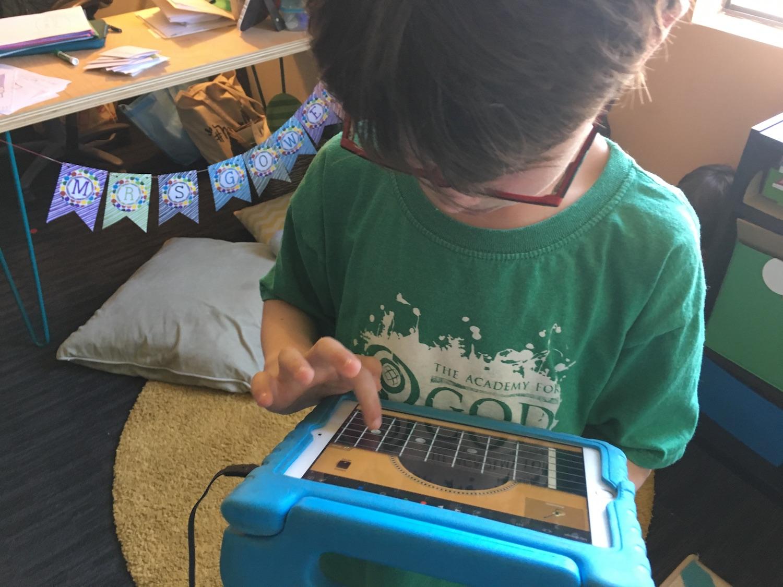 Utilizing the iPad