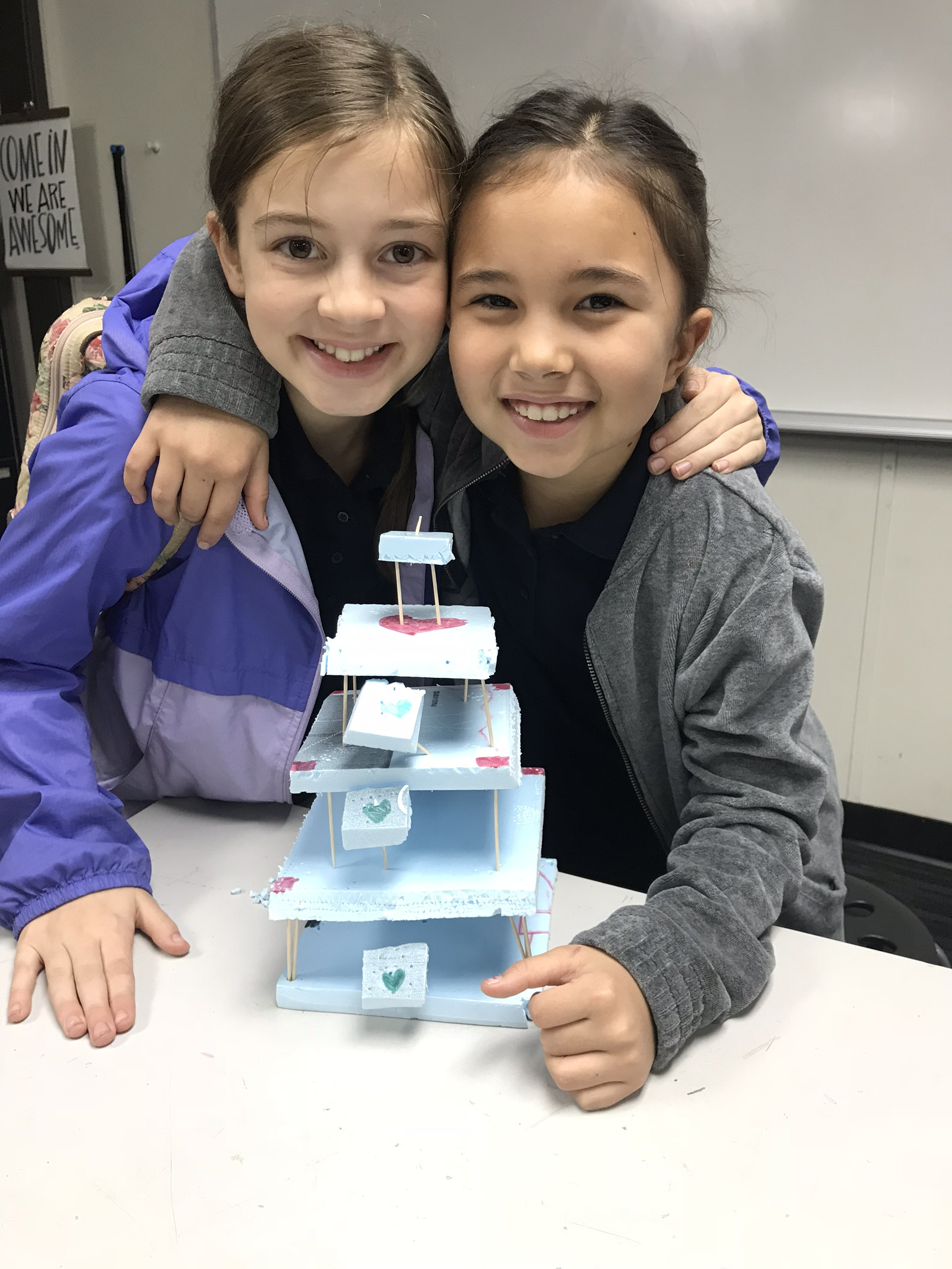 A brief survey of Japanese architecture required the study of proportions, and the use of multiplication to calculate measurements for each layer of these cool, earthquake-proof buildings! Math skills - check. Developing a global awareness- check again. Having a blast while doing it - bonus!
