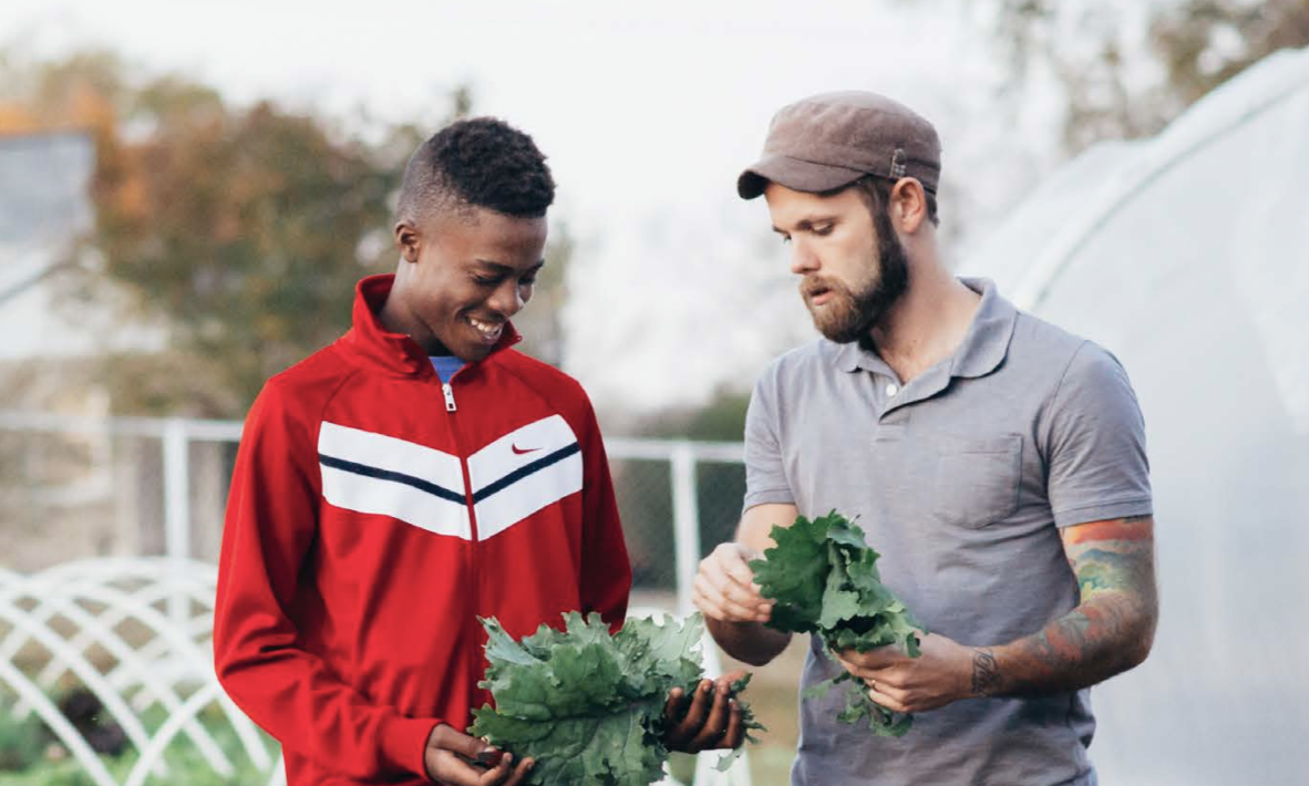 Before enrolling at the Academy for G.O.D., Gerron participated with our organization through Camp Skillz, volunteering in the garden and even peer tutoring through our after school program.