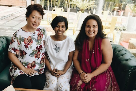 Deb spent time leading discussions with Rose Oungh and Sneha Purti pertaining to experiences as married women and how to be wives directed by the Word and not culture.