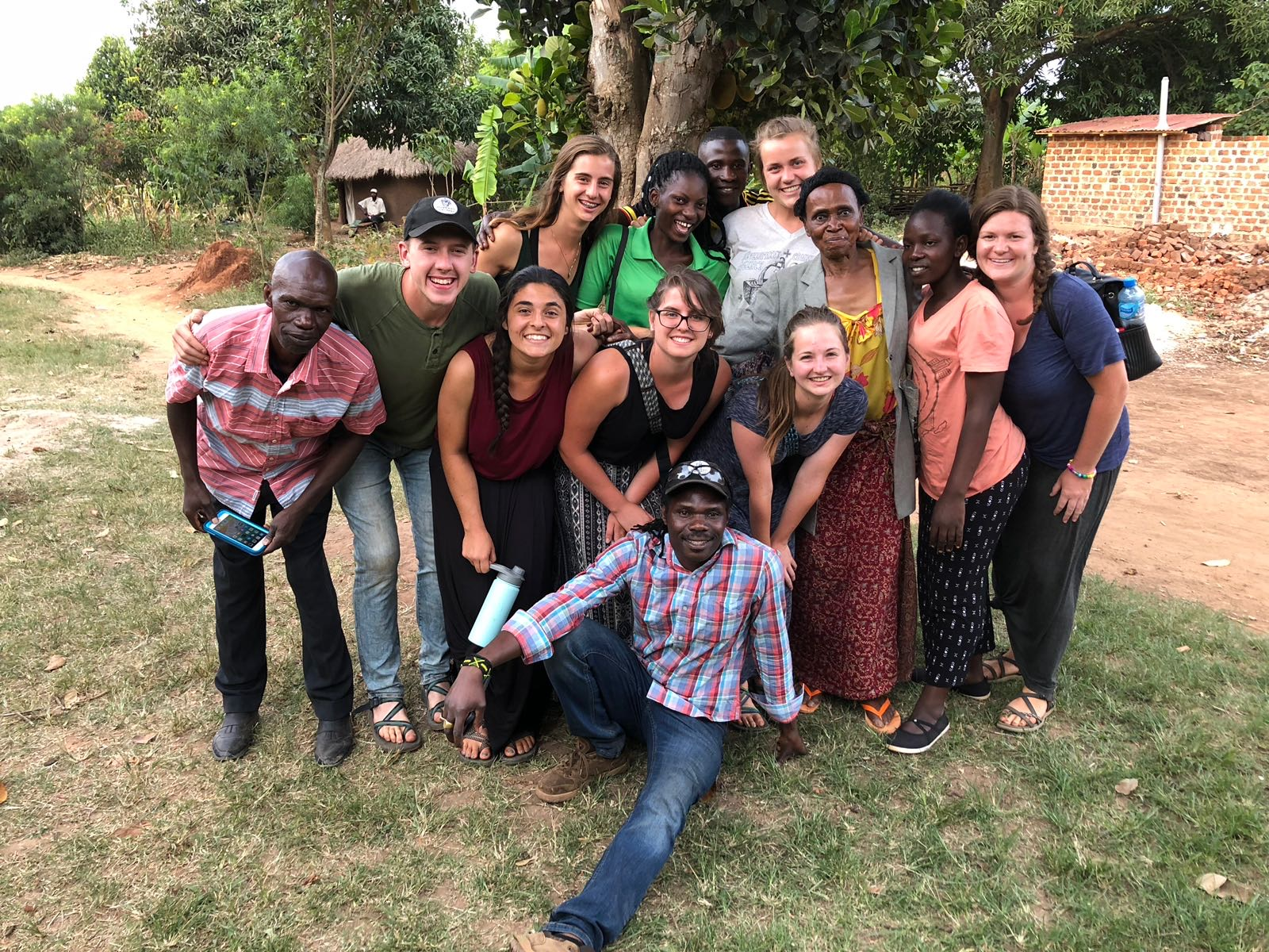 2018 Summer Interns did several home visits which allow them to sit and visit with locals, hearing about their lives and the kinds of challenges that God has carried them through. This visit, spent with Madame Jane (third from right), was especially wonderful as they learned about her decades of experience as a teacher at St. Johns school, where the interns volunteered throughout their trip.