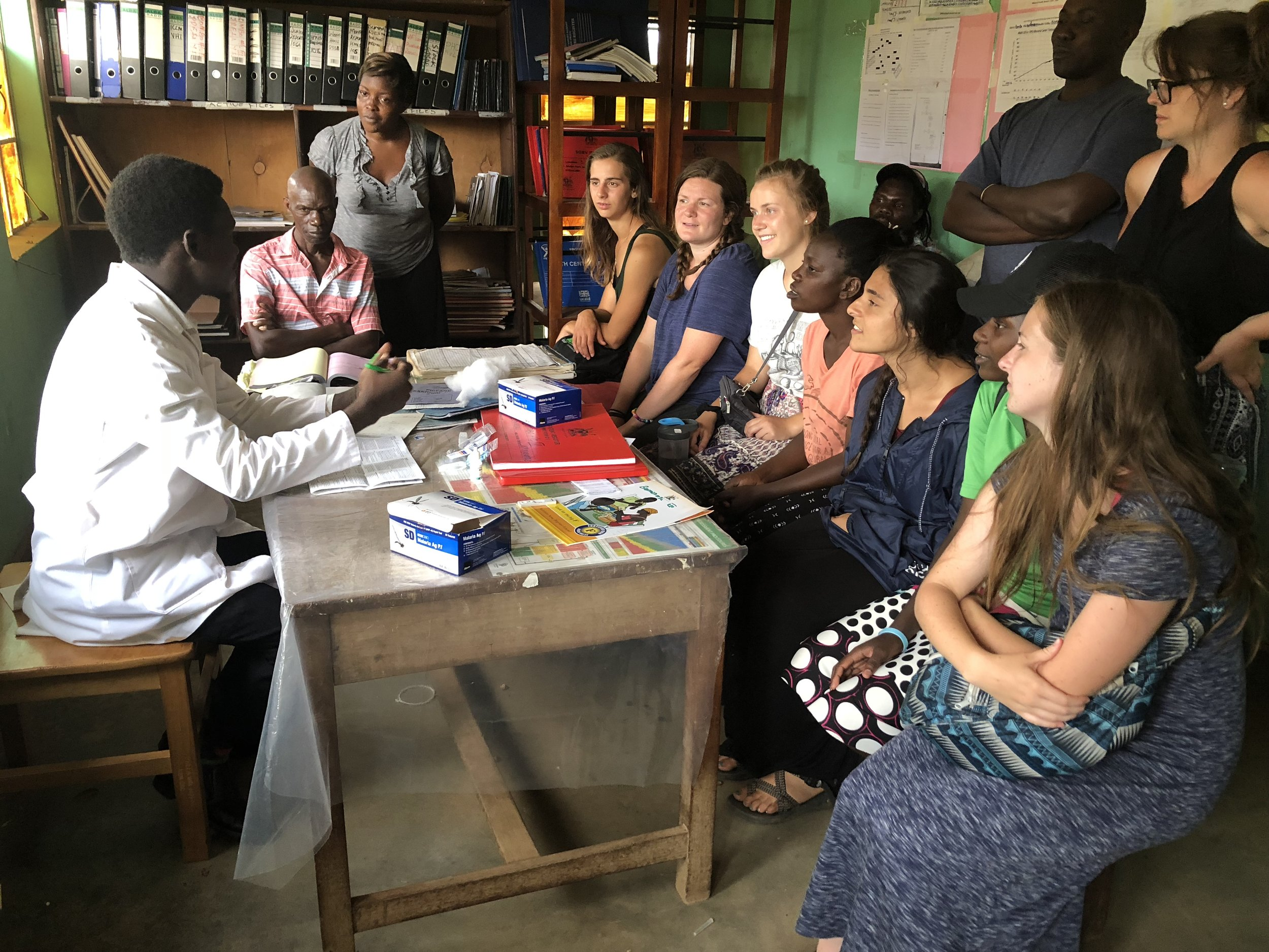 During one particular visit to a medical center, interns learned about the various sicknesses and diseases that people in East Africa face, as well as the shortages and struggles that hospitals and clinics face in trying to meet the overwhelming need.