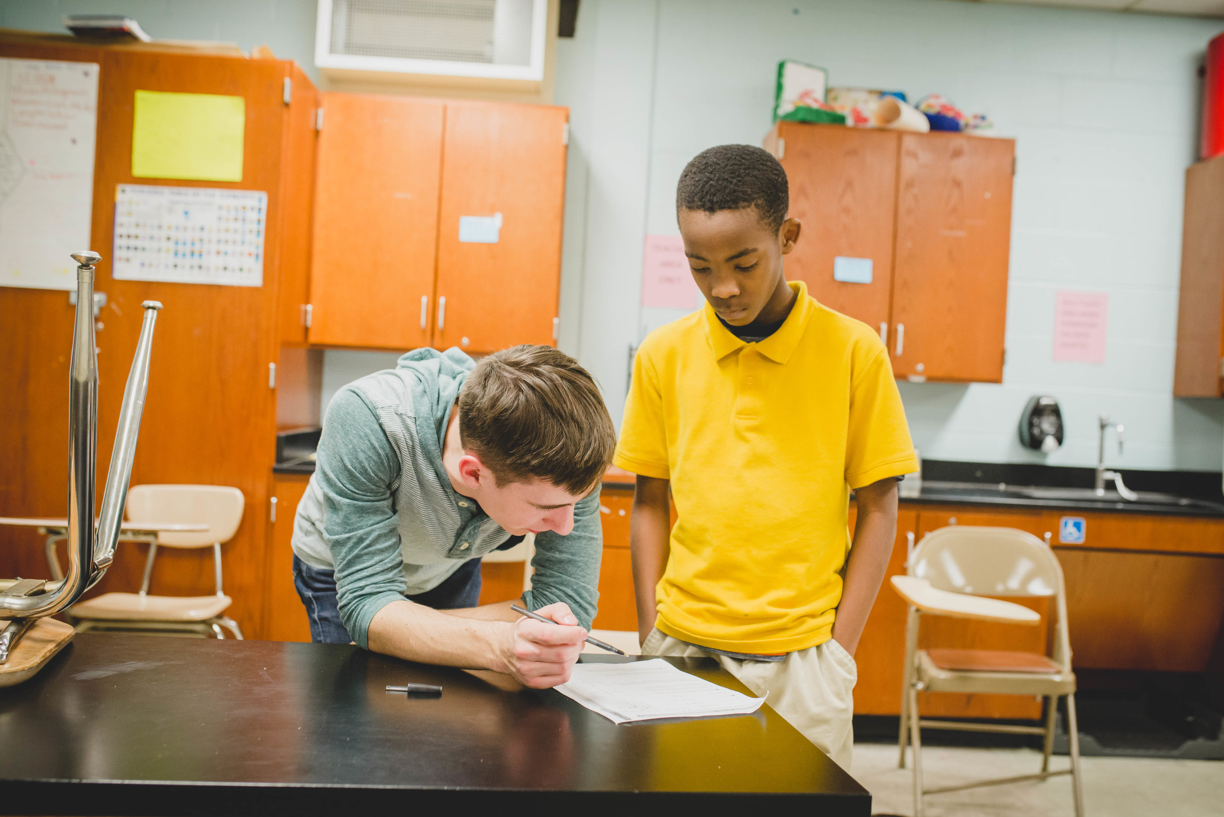Whether its helping students through homework, mediating a conflict, or listening to their multitude of stories, CASE provides countless opportunities to speak into students' lives and encourage them.