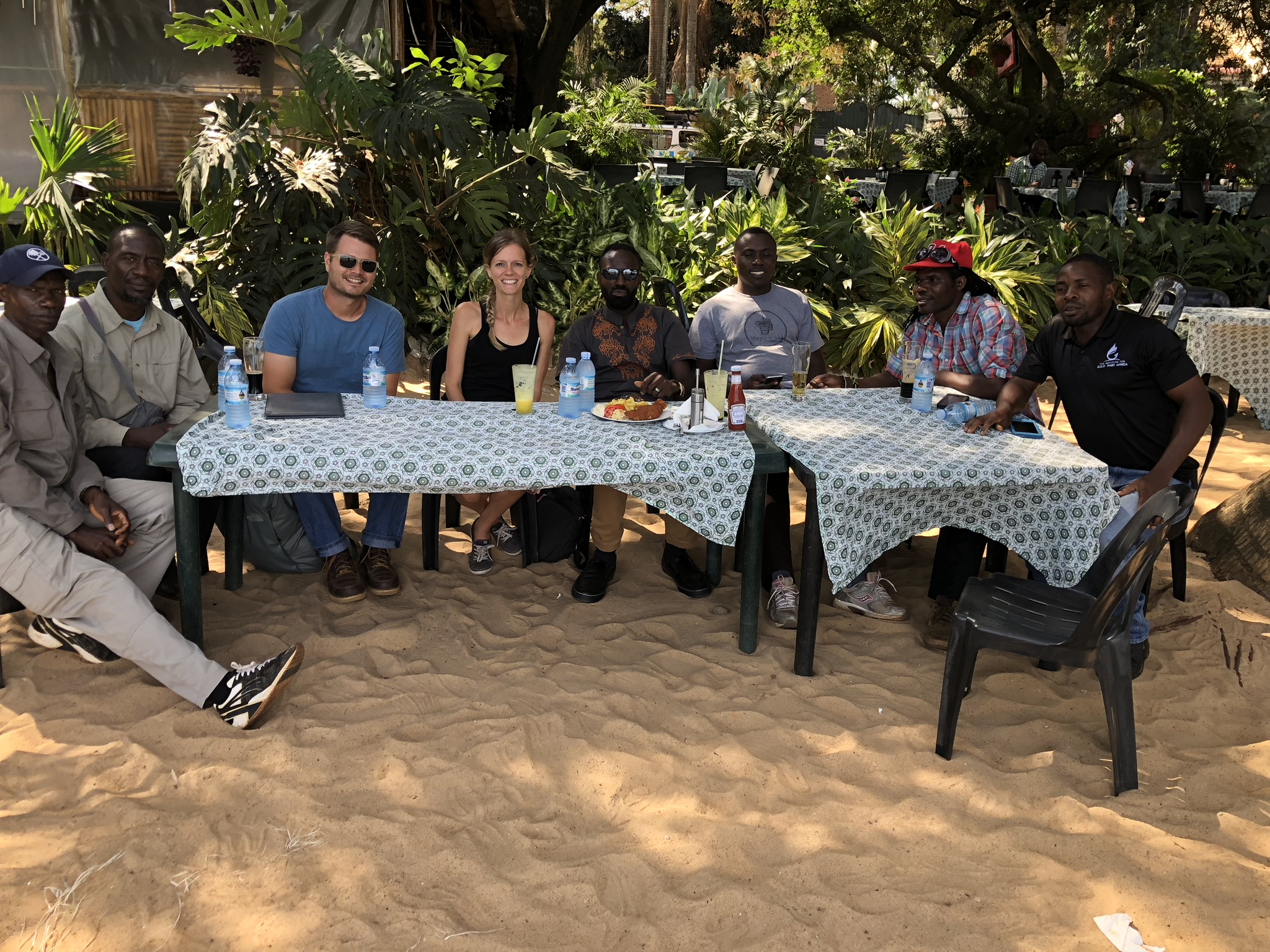 Our EA Leadership team (Cameron Kagay, Grace Aaseby and John Nyago) sit alongside our EA cooperatives—wonderful men of God who are responsible for carrying out the mission daily!