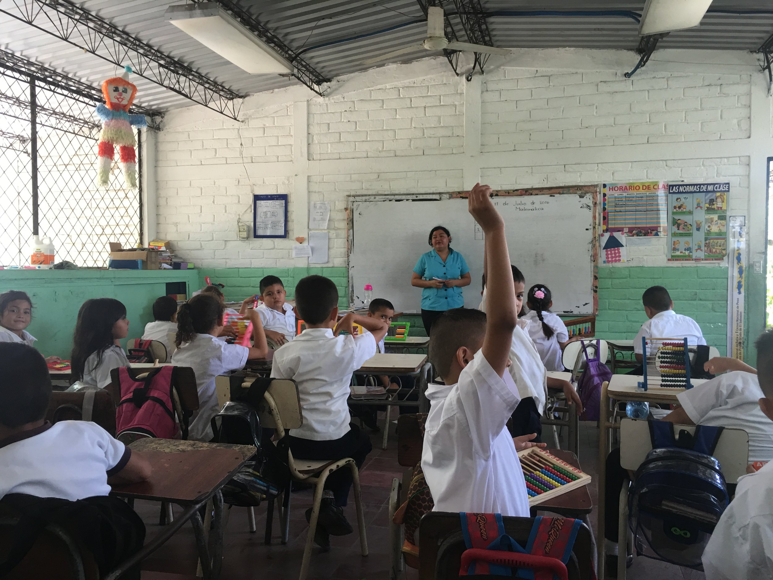 Magdalena teaches math to elementary students and English to junior high and high school students. Our team is equipping her through conferences and a publication in Spanish with practical tools to better serve students and their families.