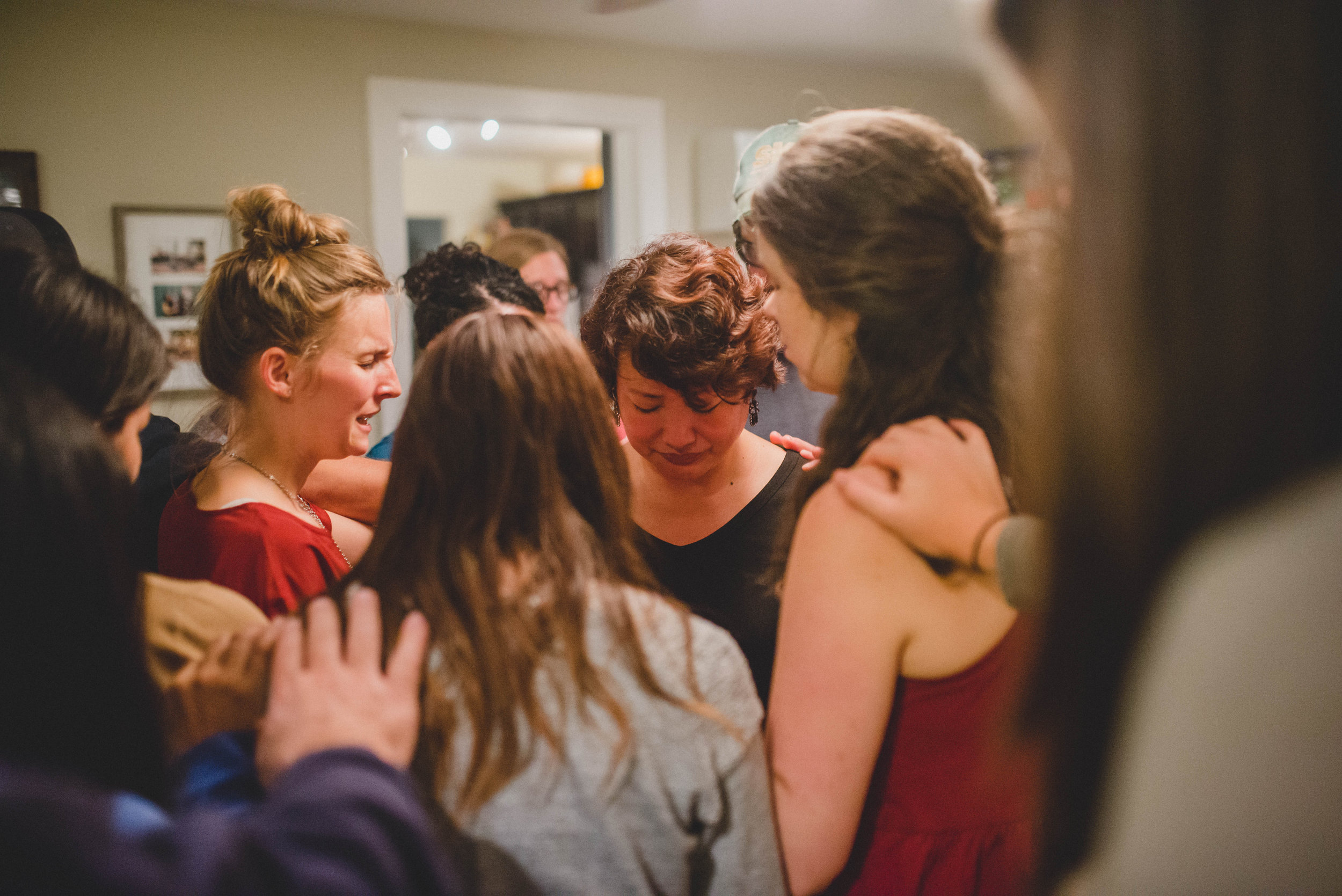 The participants in our organization pray regularly for our staff in India. We were blessed to have a time when we could pray with and for Rose in person. We prayed, worshipped, and had several bible studies together in the few days she was with us.
