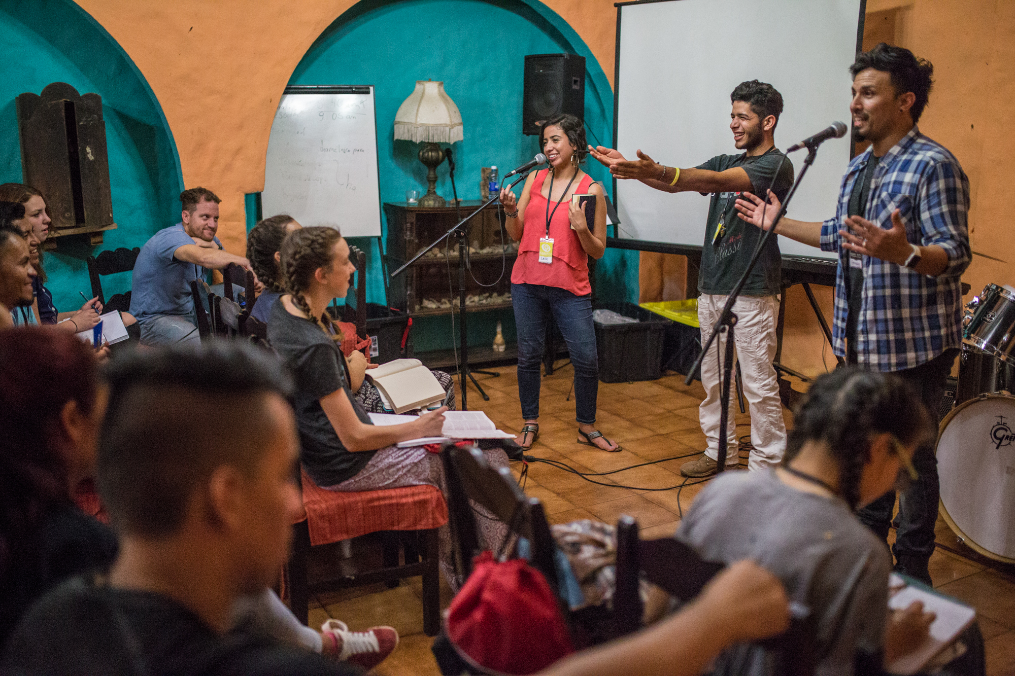 As long as we've worked in Latin America, we've offered youth Bible conference. These conferences have challenged students to learn God's Word and participate with him in changing their communities.