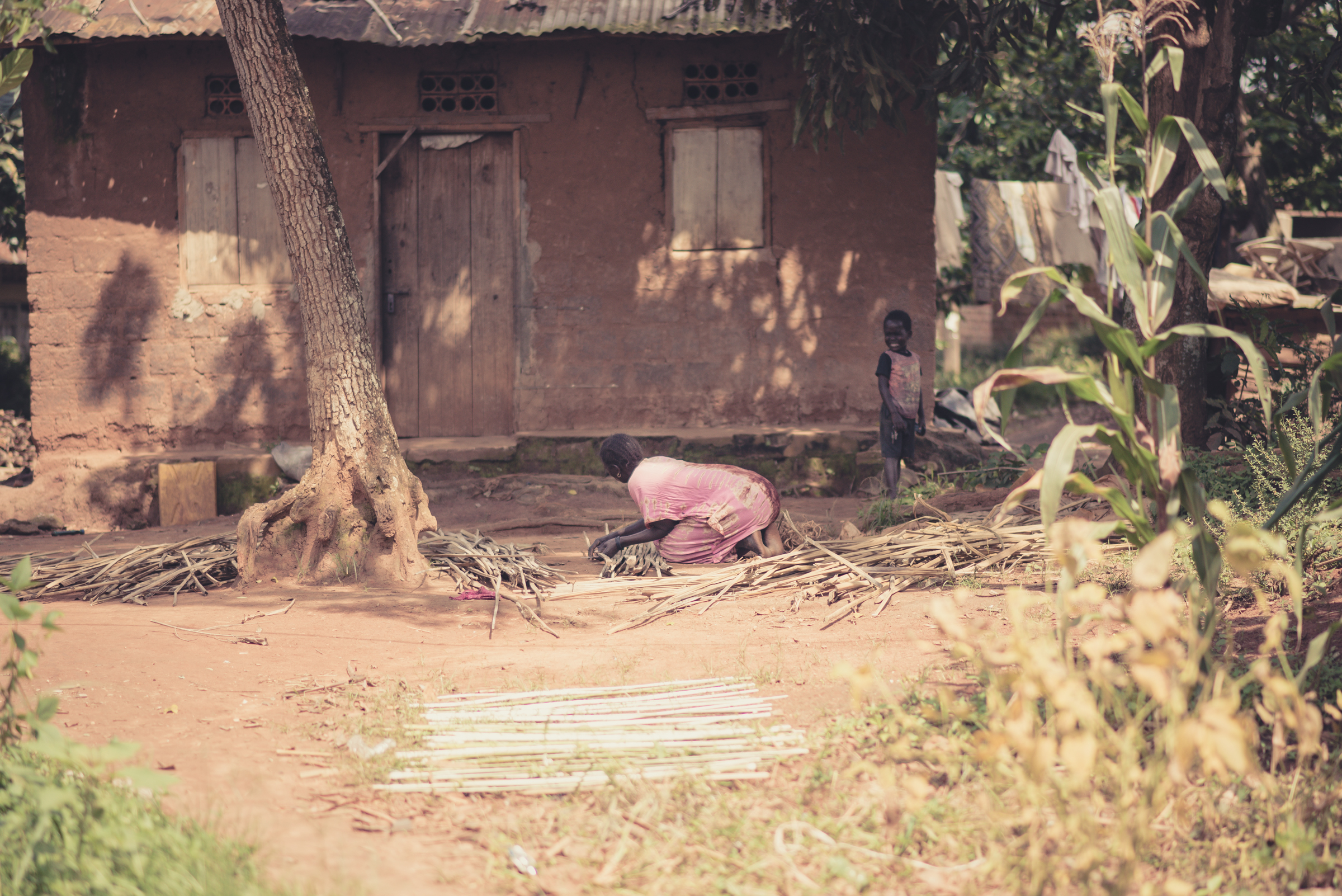 Sight is something that needs to be developed, especially when we are faced with scenes that are disturbing. The mother and child in this photo are nearly invisible — overshadowed by their environment. Seeing with the eyes of God is something we develop by opening our eyes, straining to see those who blend in with their surroundings, and once we see, we do something about it.