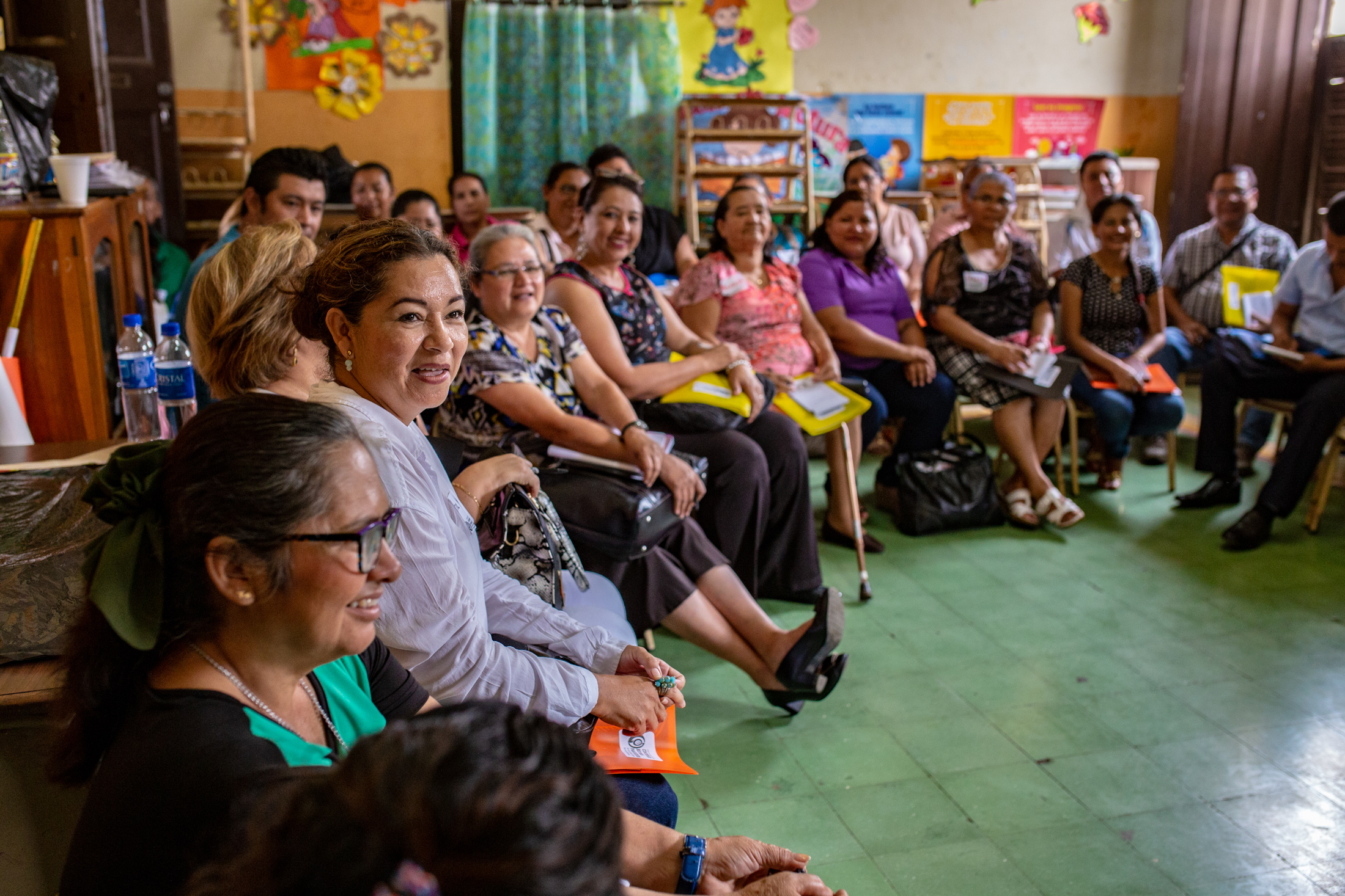 Our teachers' conferences in El Salvador just keep growing. At the most recent one, 150 teachers were present and gained so much they said they didn't want to leave.