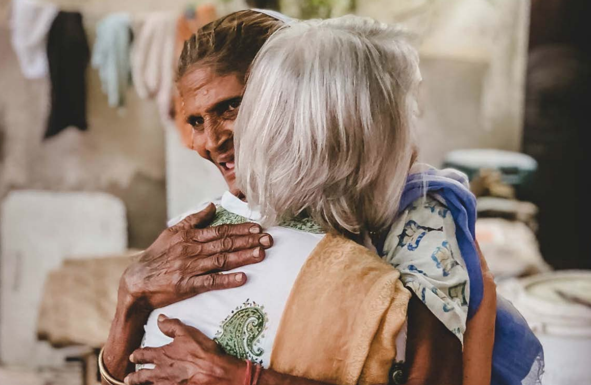 """When Rosemary Sherrod asked this midwife, who had been delivering babies for the last 50 years, how many of the children in the village she had delivered she paused, then answered """"all of them.: This winter, a team will begin a documentary about her store in hopes of preserving her largely unrecognized service to women and children in India's rural villages. In this newsletter, you'll read the stories of individuals like this woman, who have received an open hand, who then in faith open their hands to others."""