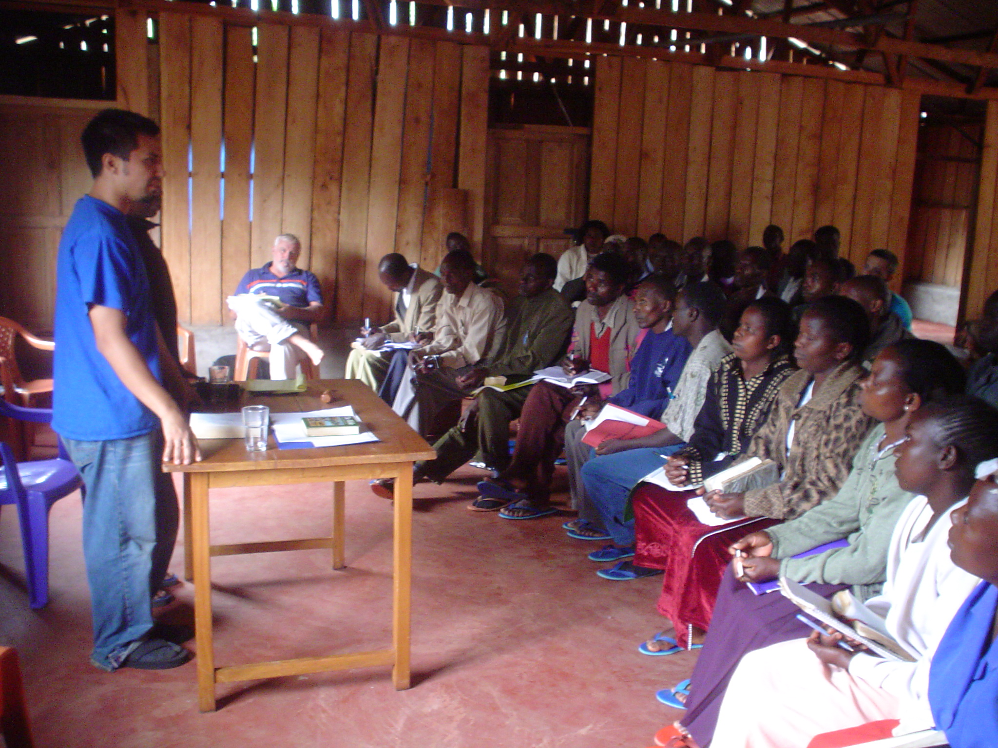 "Attendees, sometimes traveling more than 100 miles on foot, have taken part in numerous Bible conferences and leadership seminars at the ""multipurpose center"" in Kenya, East Africa."