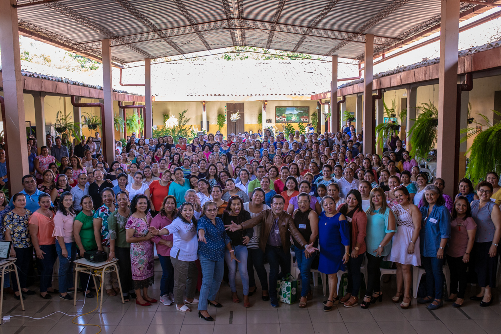 We planned for 280 teachers, but were blessed when 380 showed up! This was our biggest conference yet, and we're already making plans for our next one in October!
