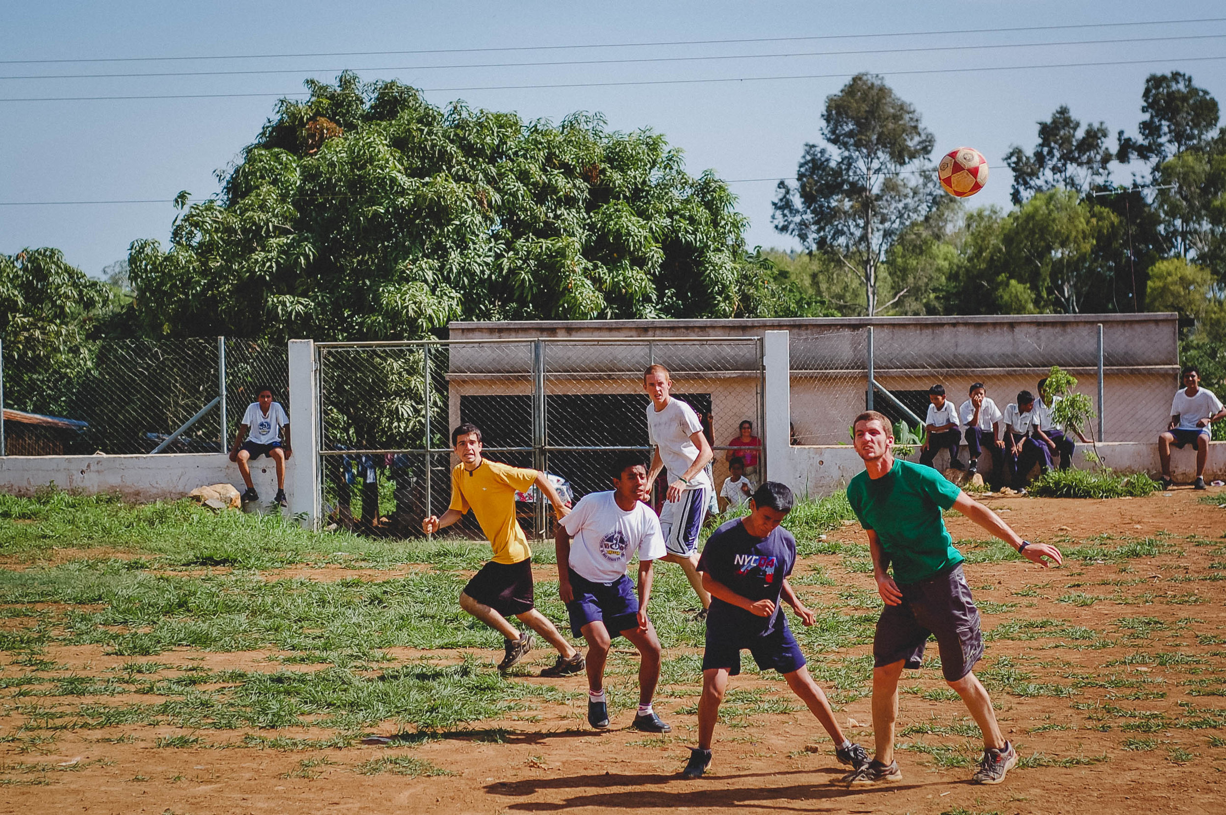 Soccer games on    Summer Internship    are more than just a game. They're an opportunity for participants to learn how they can work together to accomplish a shared goal - an essential component of our development work.