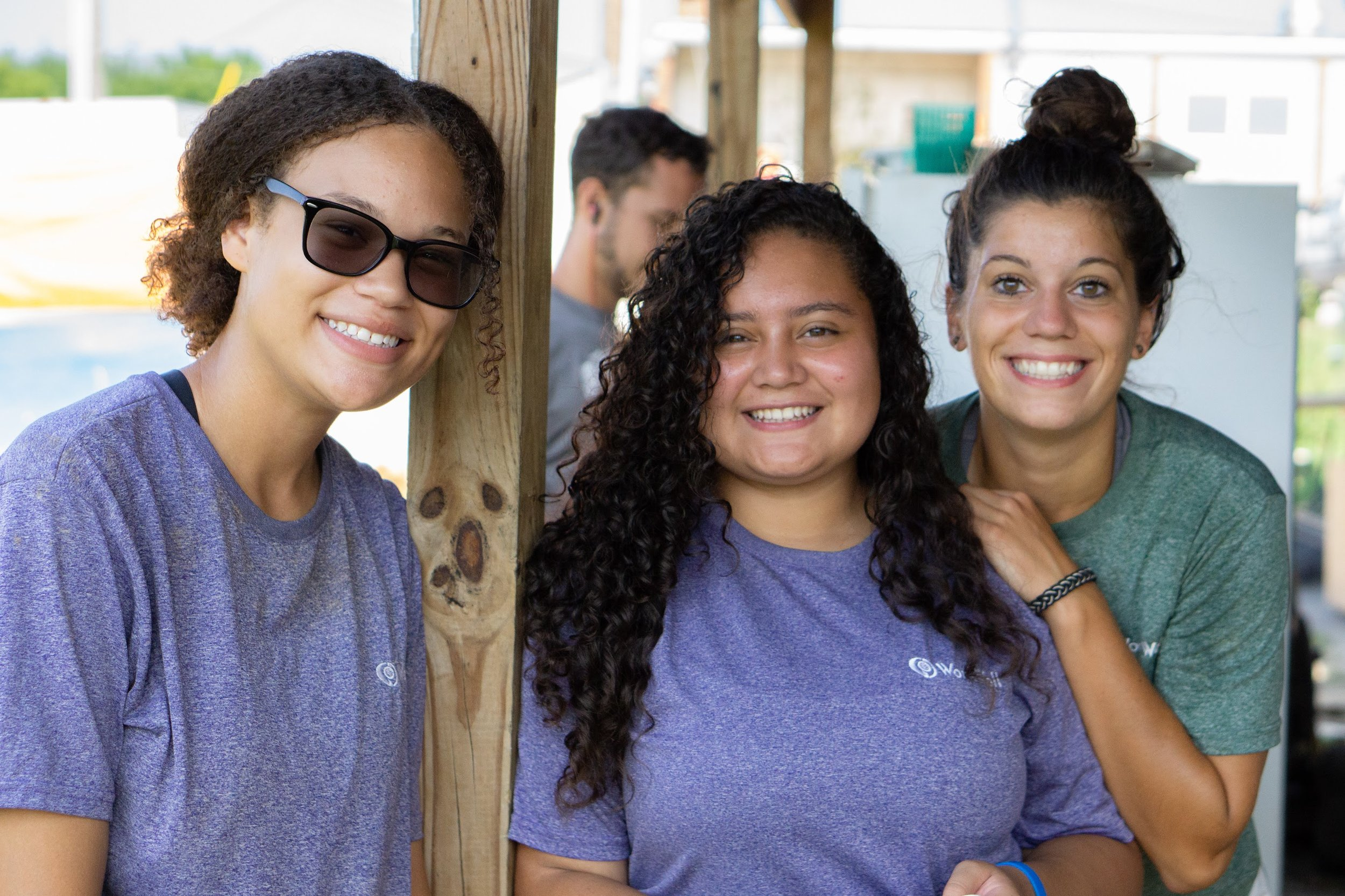 Peer Leaders are mentors for the summer. Along with workplace skills, they also take time to listen and speak holistically into the youth's moment.