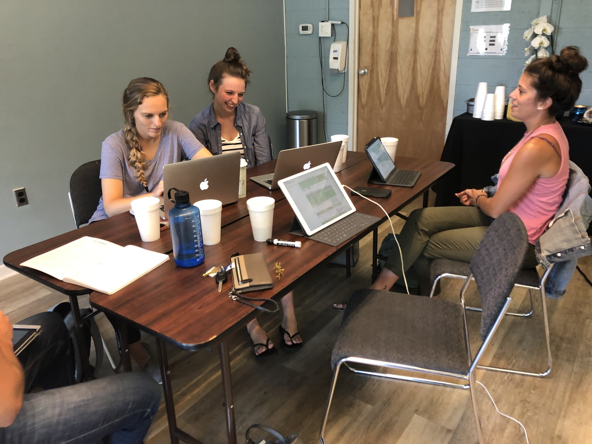Kennedy worked with the Supervisor team to plan summer work schedules for their youth. At WorkWell, the Peer Leaders learn how to coordinate with their team to facilitate an excellent youth program!