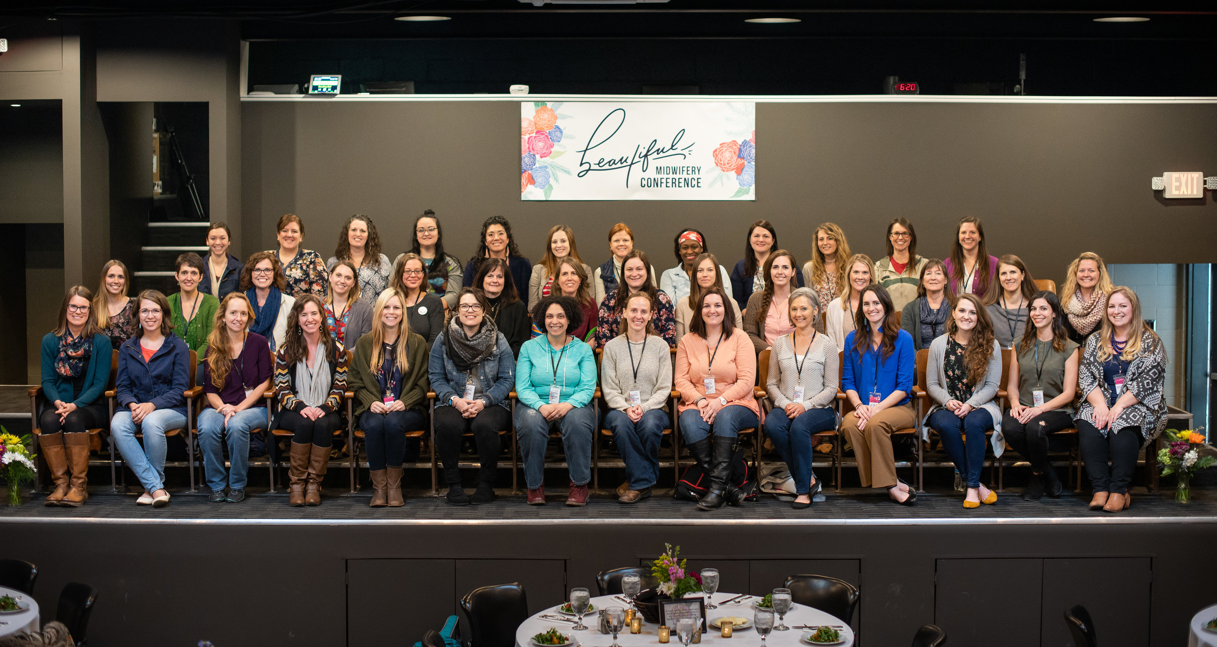 """Our first """"BEAUTIFUL Midwifery Conference"""" was held in April 2018."""