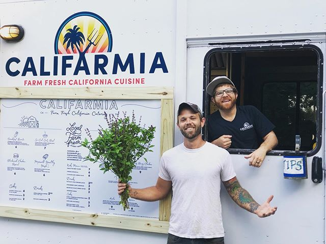 The day is finally here, people! We stopped for a breakfast burrito at @califarmiatruck who opened up their new location in Hermitage today! We are stoked. Legit the best breakfast we've had in Nashville and they are all about sourcing local - which includes our produce 👊🏽 Do yourself a favor and check them out this weekend!