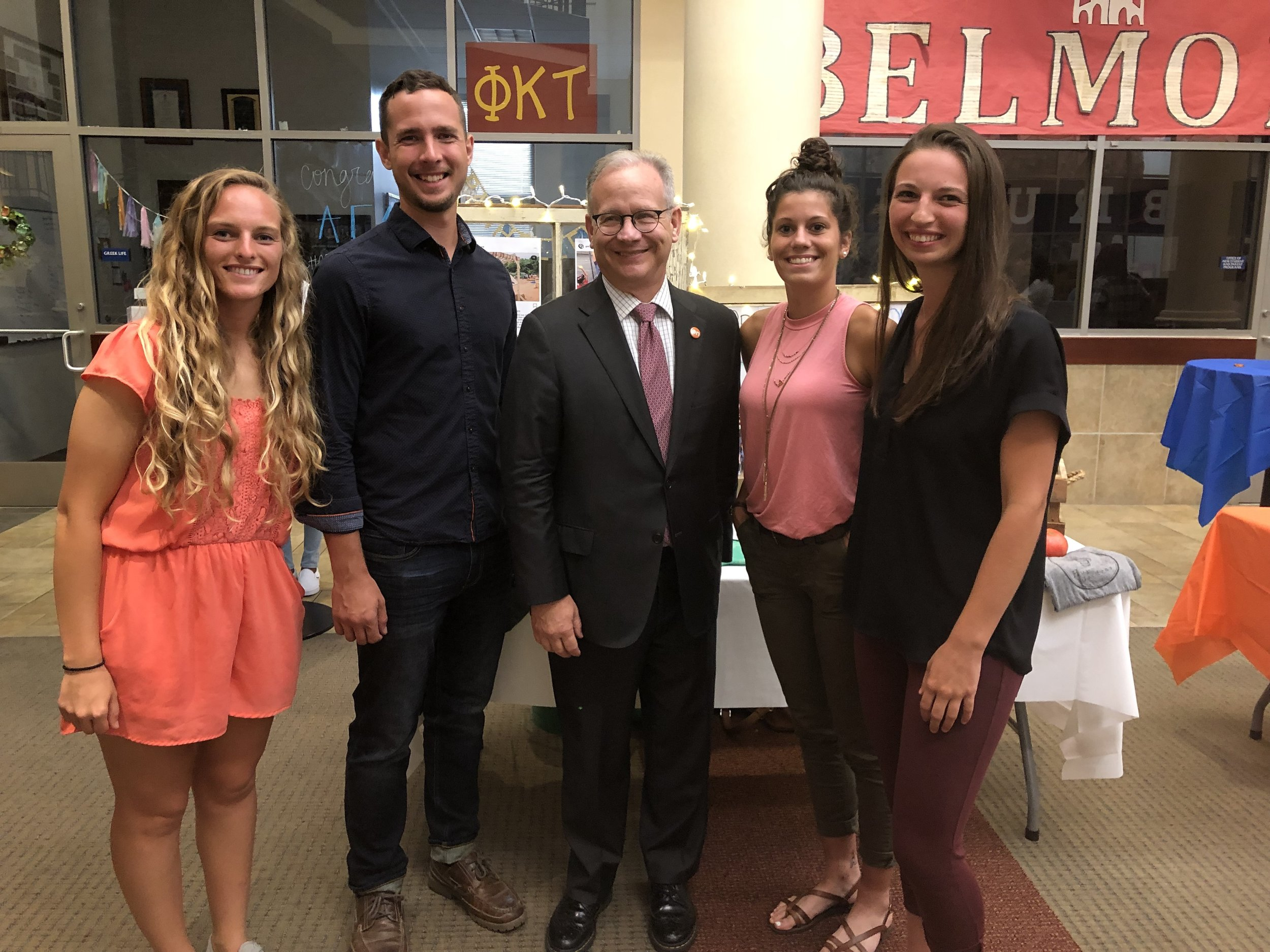 Our near peer WorkWell leaders were pleased to introduce Nashville Mayor Briley to our program at the Opportunity Now end of summer bash.