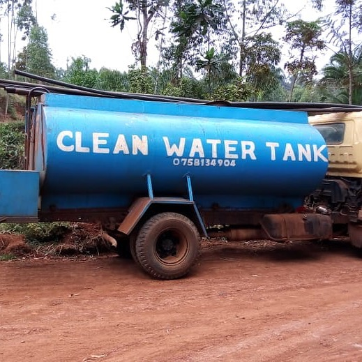 Although water-tanker-trucks are not a sustainable community water source, they temporarily alleviate the burden people face in drought stricken areas where infrastructure is not set up well to serve its community. . In times of crisis like the drought one Kenya is facing, these trucks have been able to deliver water to people we know and love. We are thankful! 🙏🏼 . #NuWaterWorks2019 #godeastafrica #godintl #watertanktruck