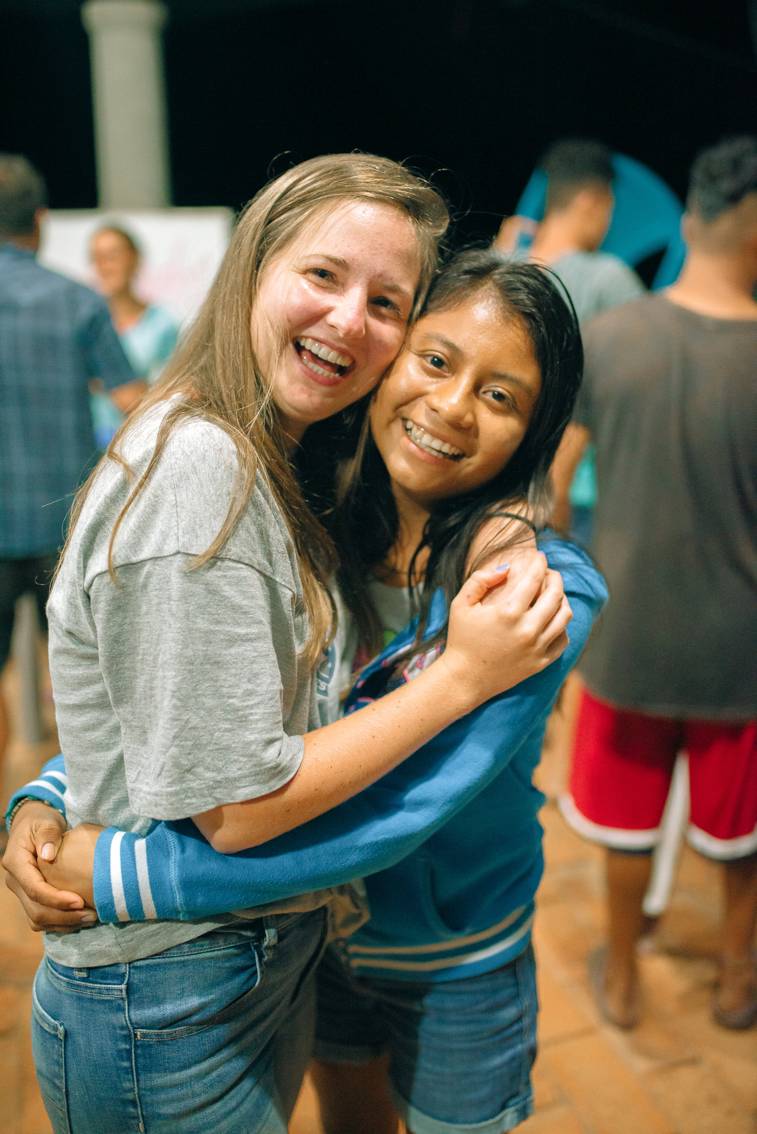 Lauren and Salvadoran intern, Doris, are the same age. Through they live in different countries and cultural contexts, they are united as bible students as they serve God and their communities.