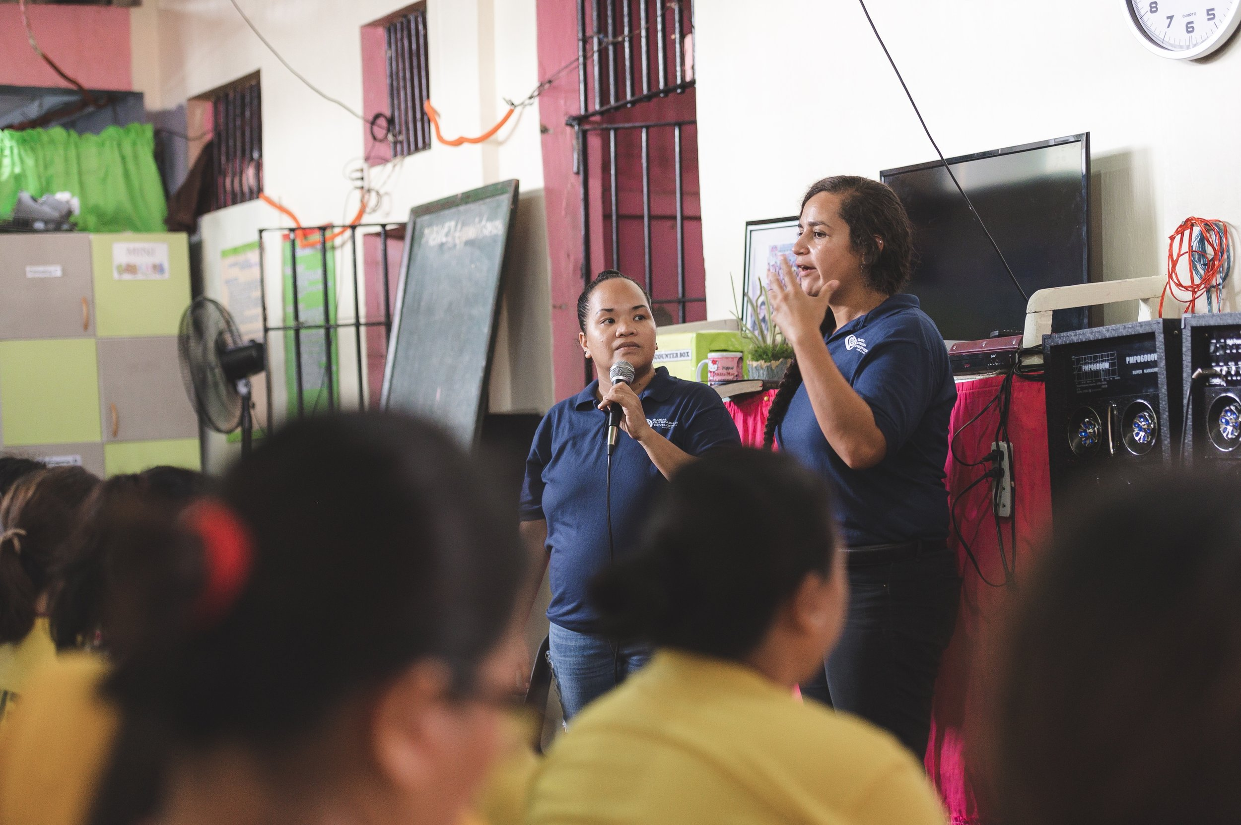 While the workshop or game may differ each week, the one thing that is constant in our weekly visits is teaching of the bible. Rina and SEA cooperatives make intentional efforts to minister to the women through worship and teaching of scripture.