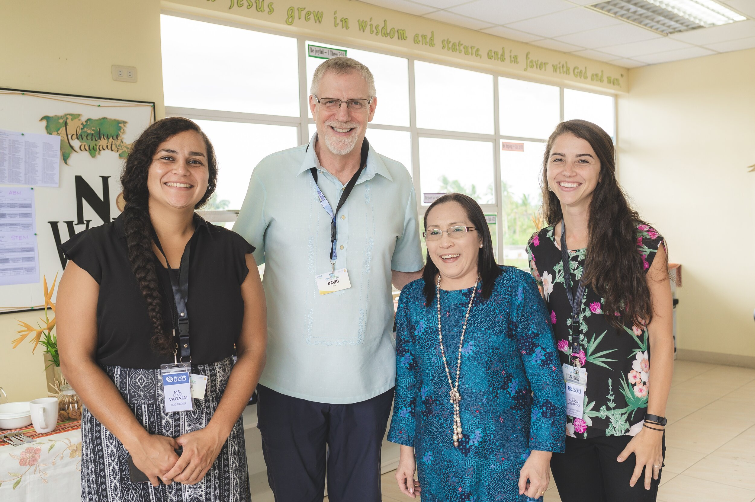 Leafa Vagatai and Alison Sherrod were blessed to be invited to the ACSI Summit Leadership Conference, hosted by ACSI Philippines Director, Ces Tajales and ACSI Global Vice President, Dr. David Wilcox.