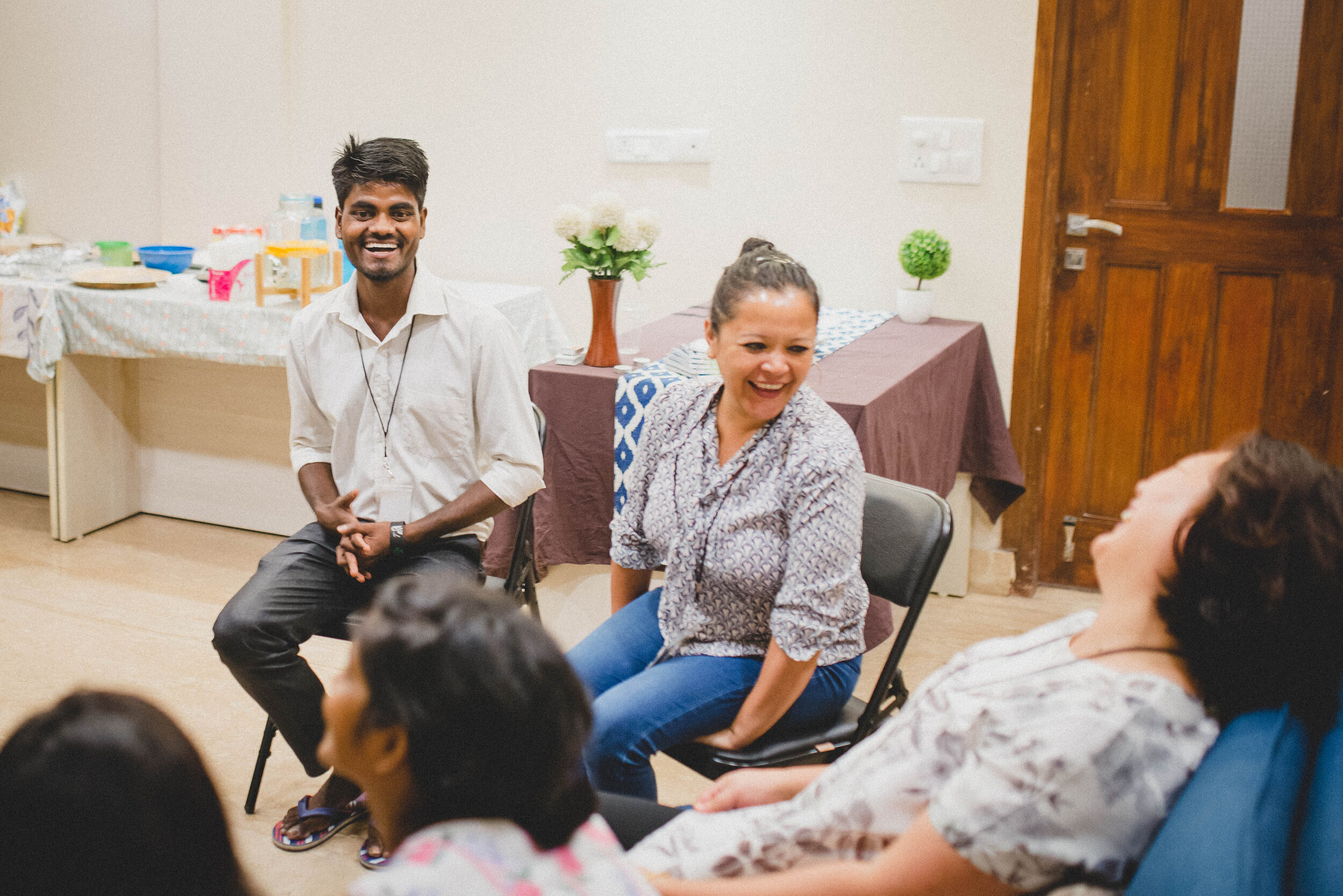 """In June, Niraj was one of the attendees of a Bible conference for Reflections participants. Reflections is our Friday night gathering of believers. Through times of teaching, worship, small group discussions, and games/skits, Niraj was able to receive biblical insight on the topic of """"Living in A Community of Christ."""""""