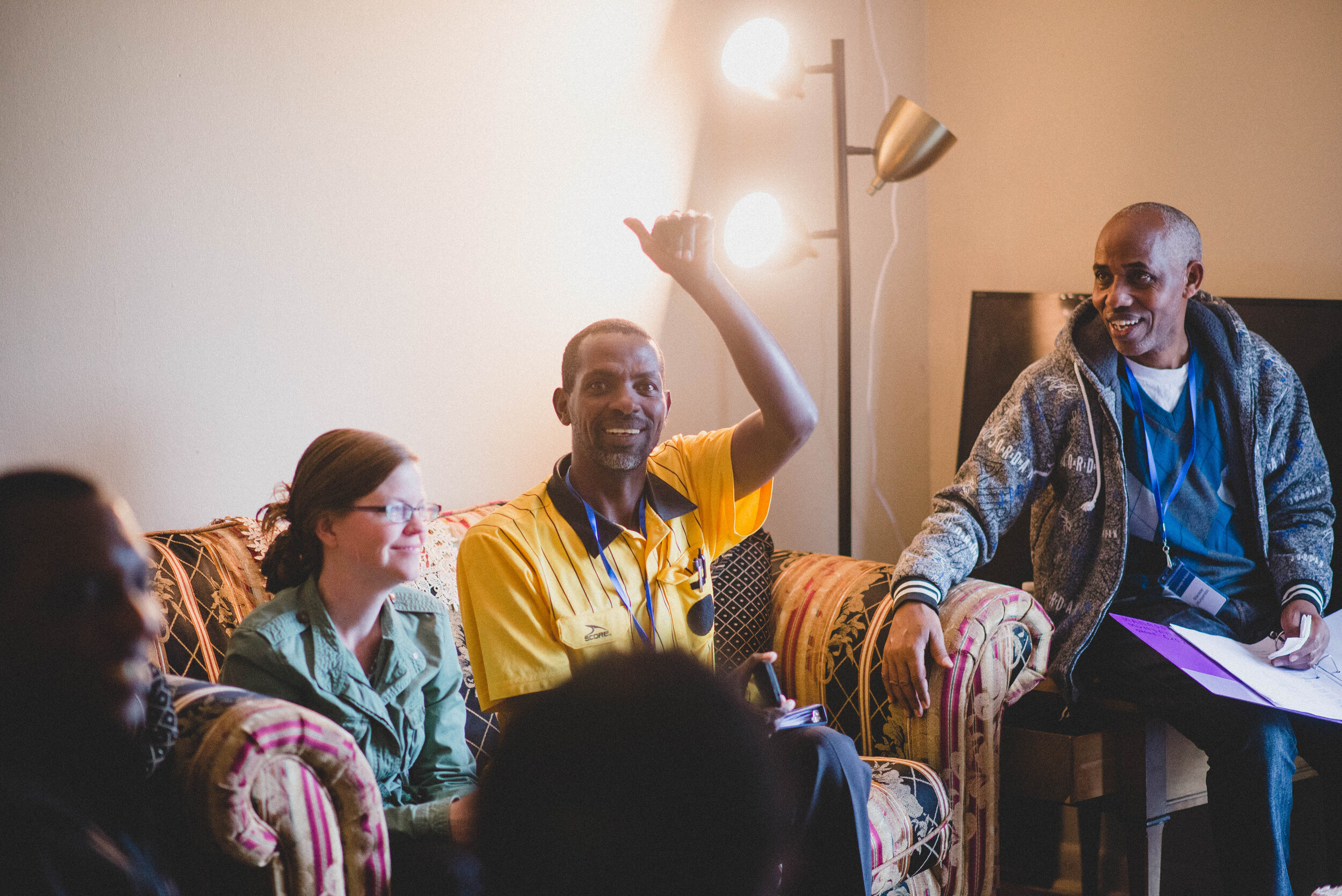 Brynn Buchanan teaches Swahili at the Institute for G.O.D. and has spent years studying East Africa and serving its people. Her gift for language, patience in listening, and steadfastness in service makes her a 'favorite' with the group.