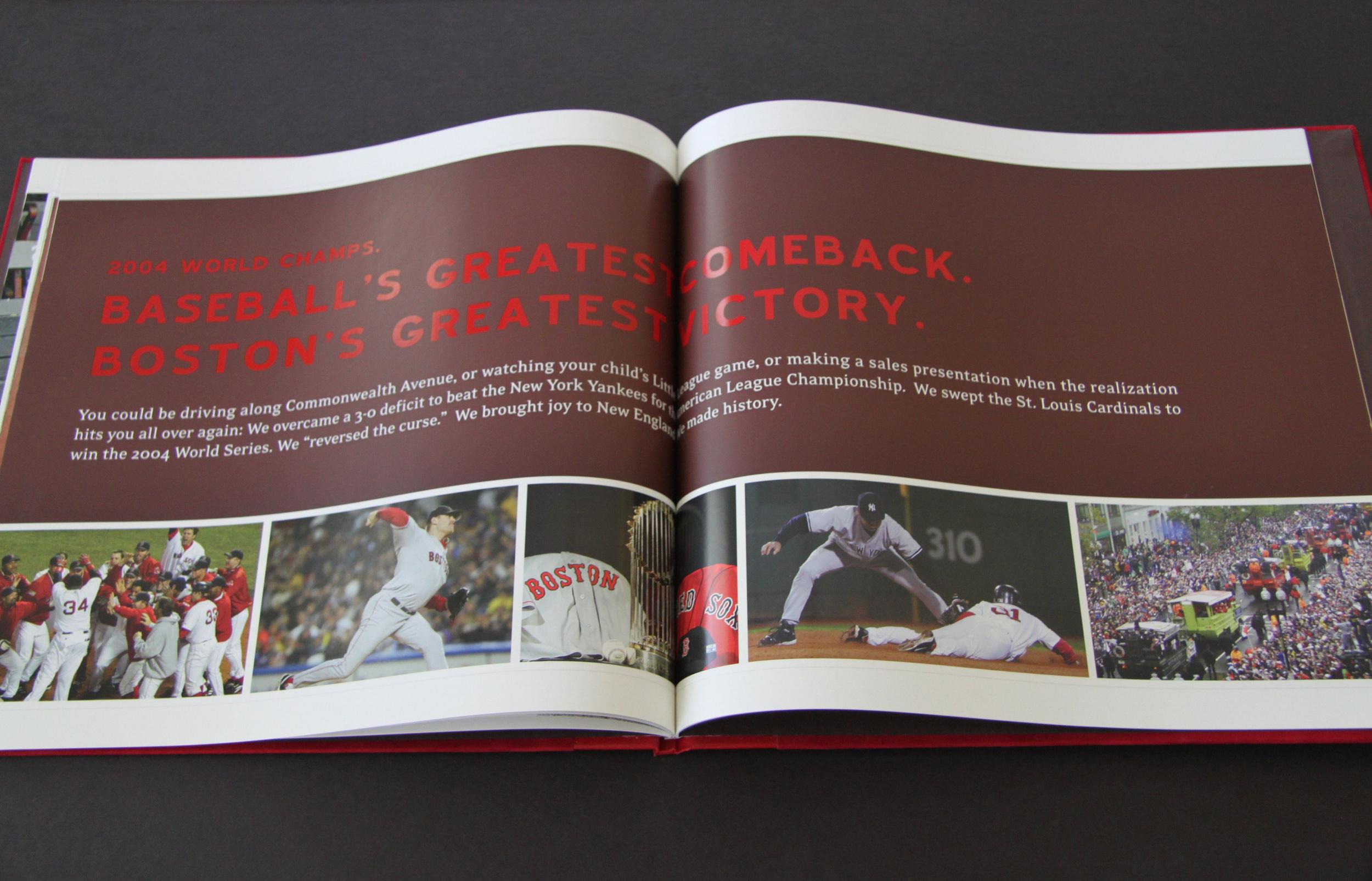 Boston Red Sox EMC Club Welcome Book