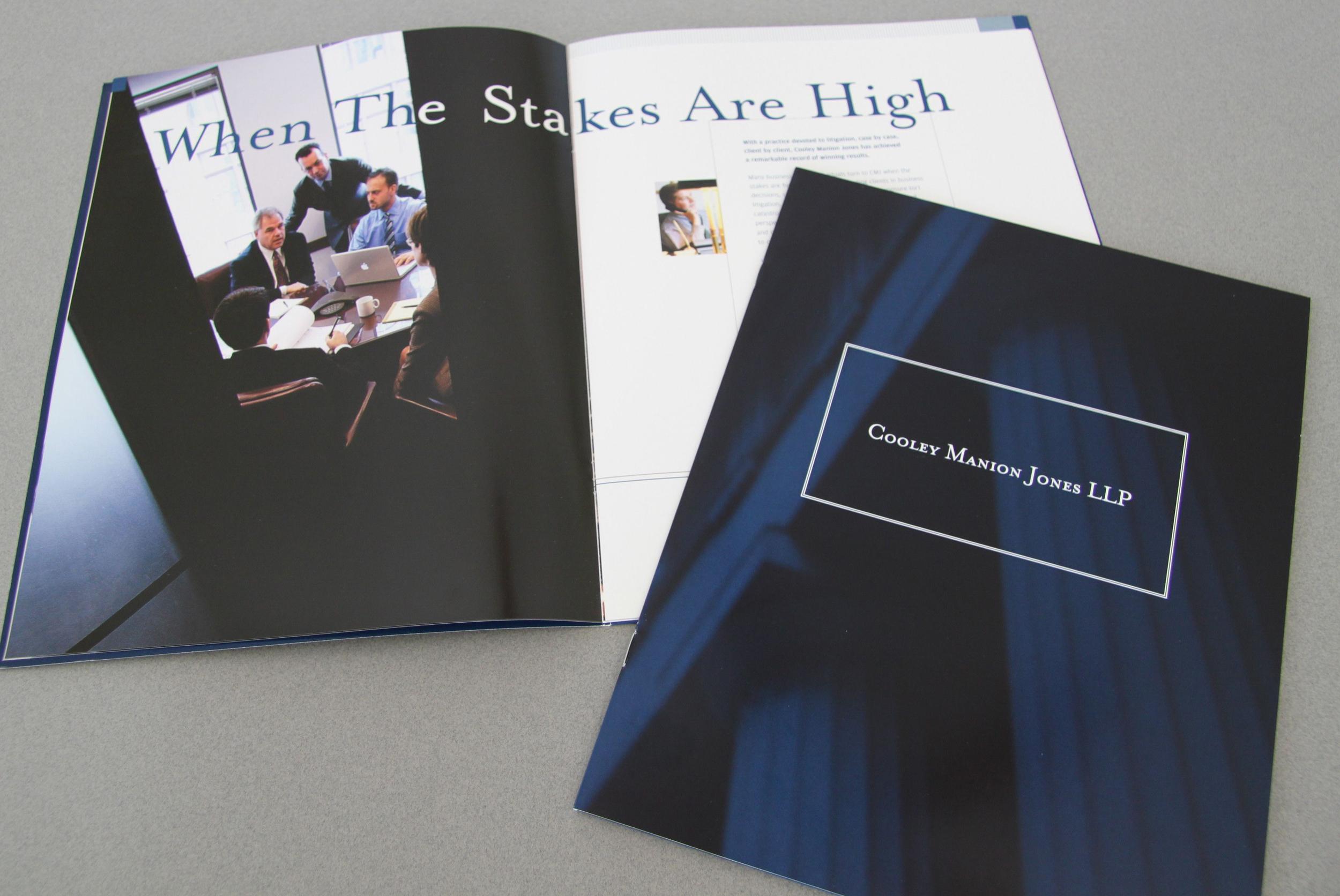 Cooley Manion Jones Corporate Brochure