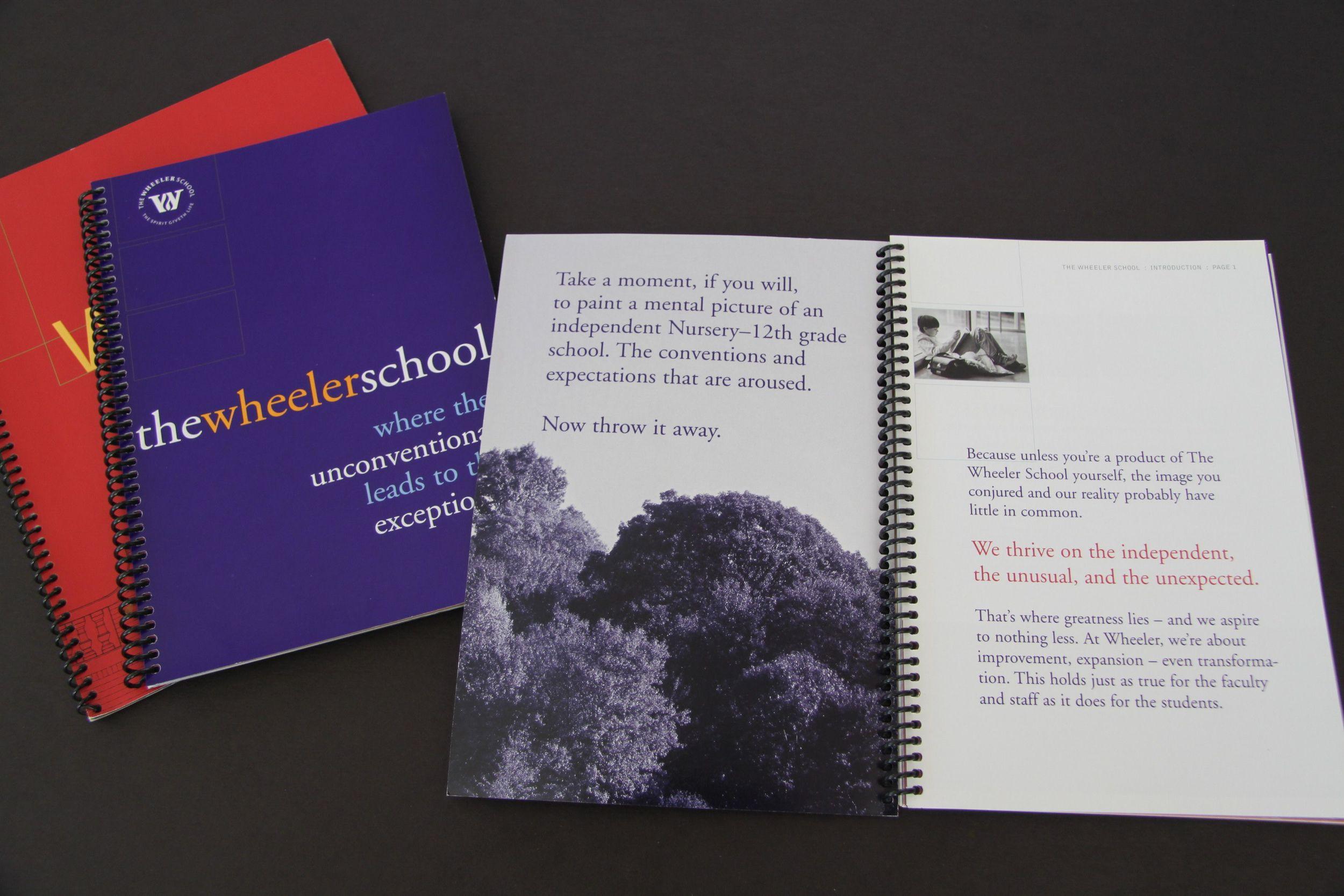 Wheeler School Viewbook